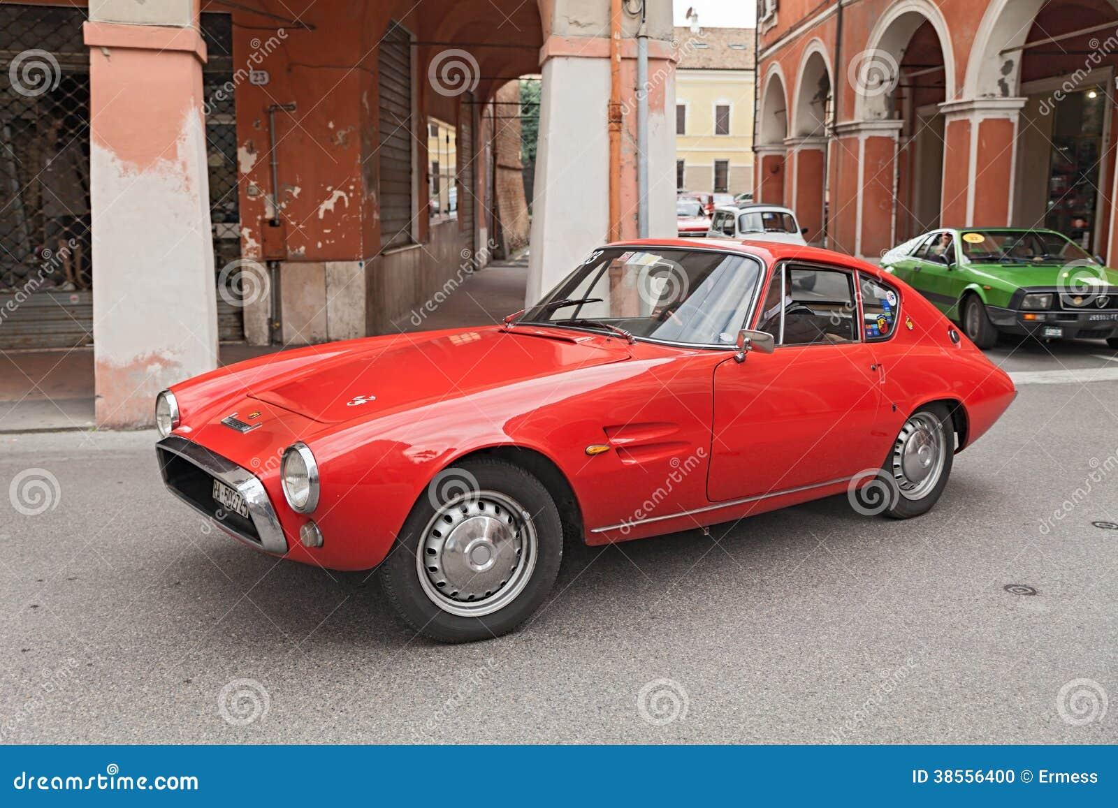 Vintage Italian Car Abarth 1500 Editorial Image Image Of Design
