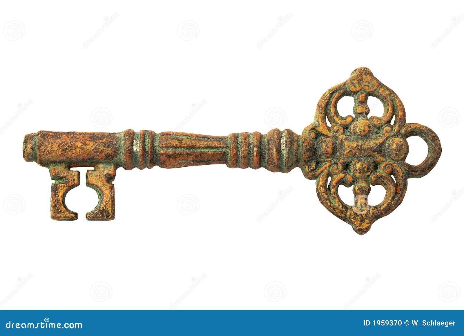Vintage Key Stock Photo Image 1959370