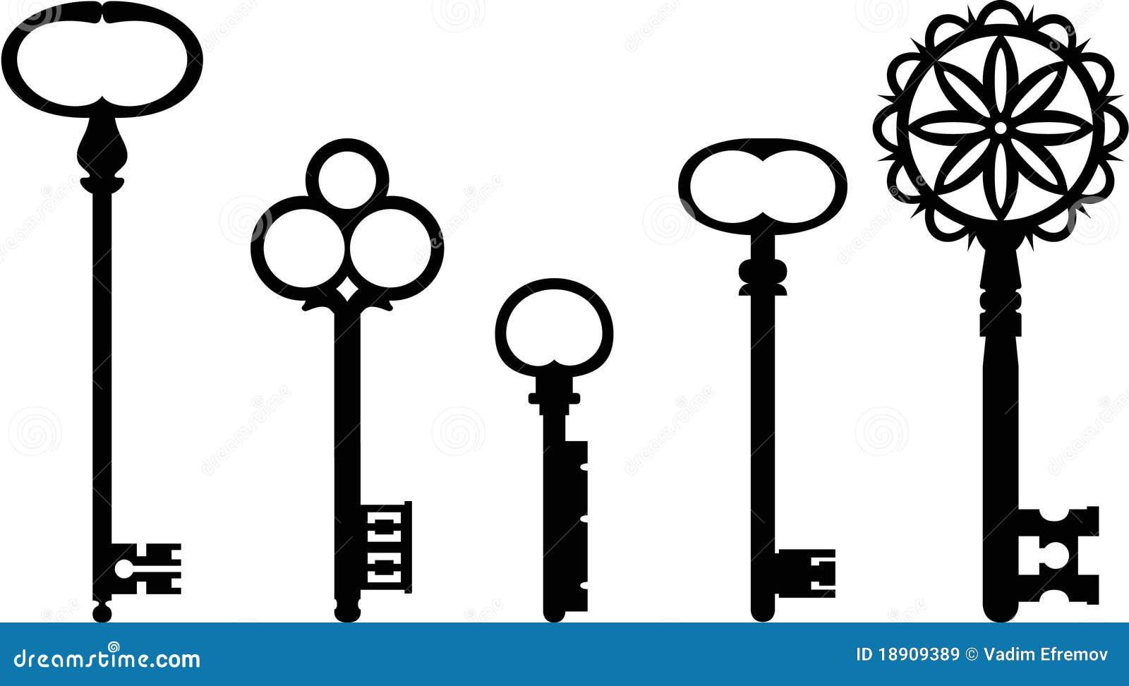 Vintage Key Clip Art Vintage keys