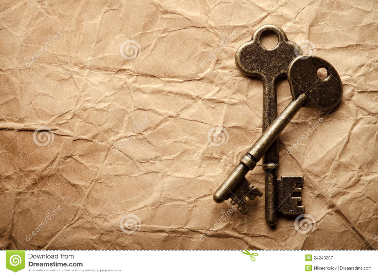 Vintage Keys Royalty Free Stock Photography Image 24243207