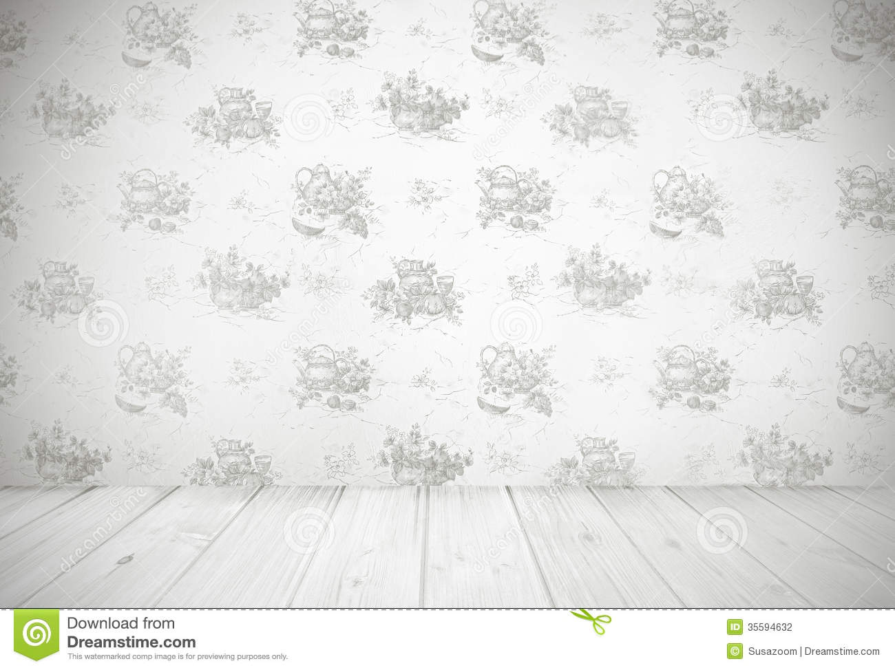 Vintage Kitchen Background Stock Photography Image 35594632