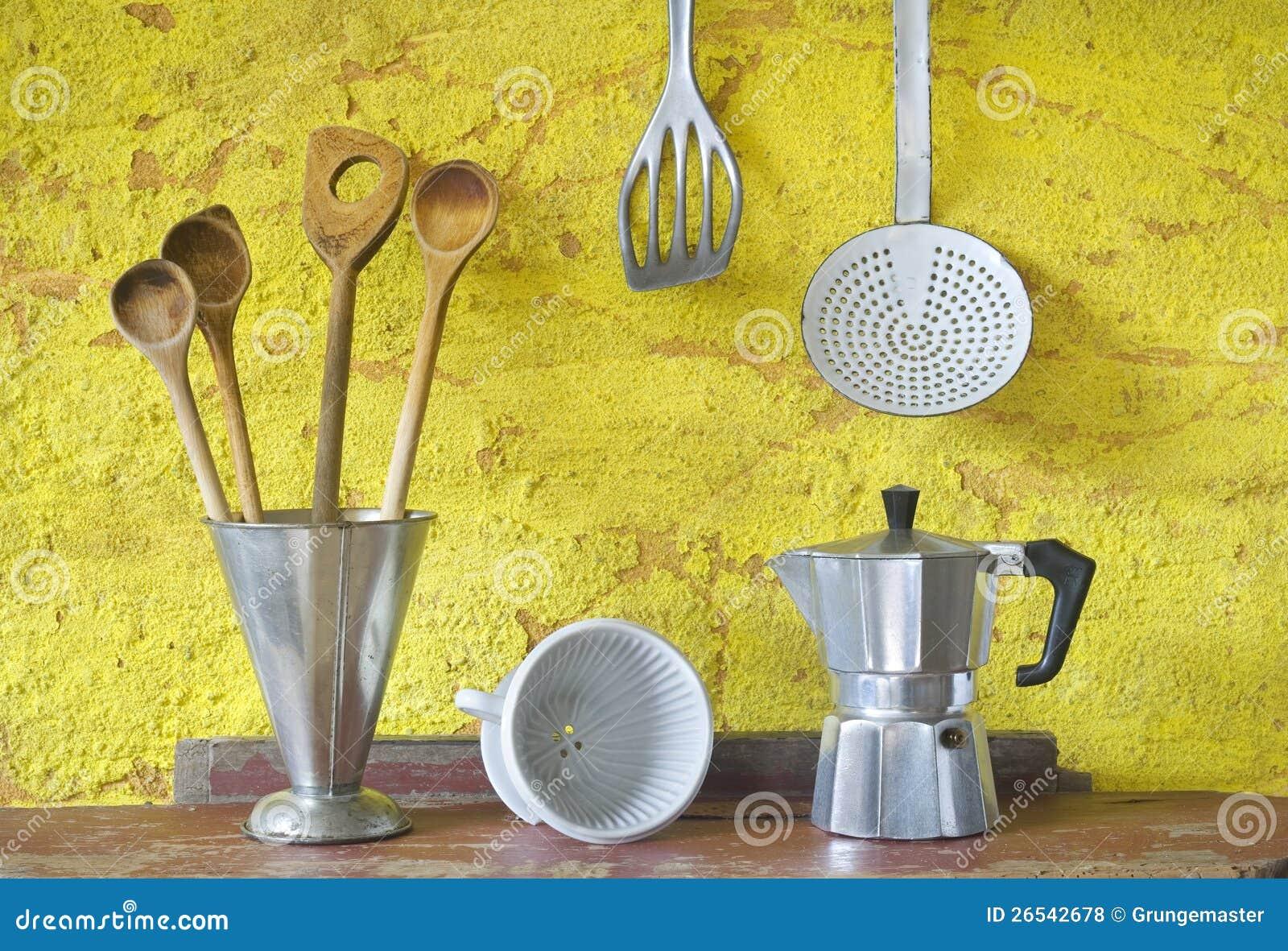 Vintage Kitchen Utensils Royalty Free Stock Photos Image