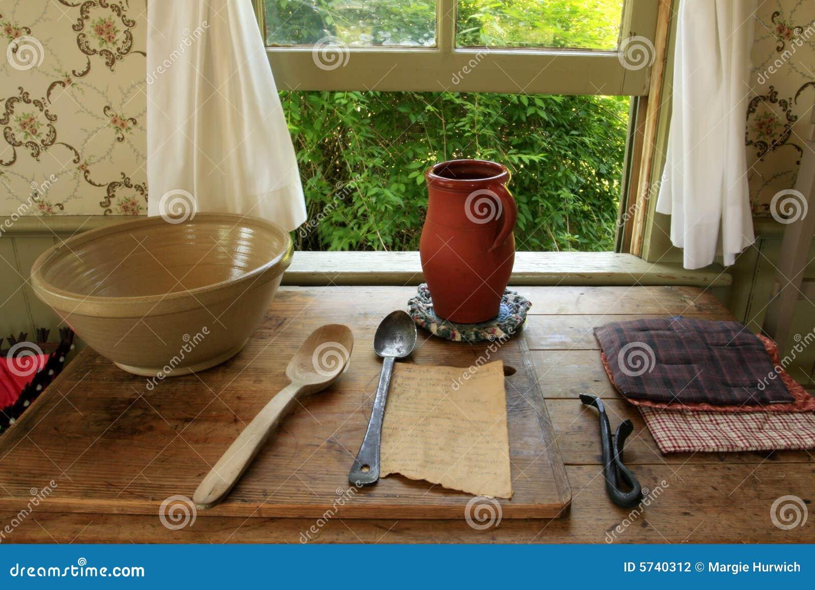Vintage Kitchen Utensils Stock Photography Image 5740312