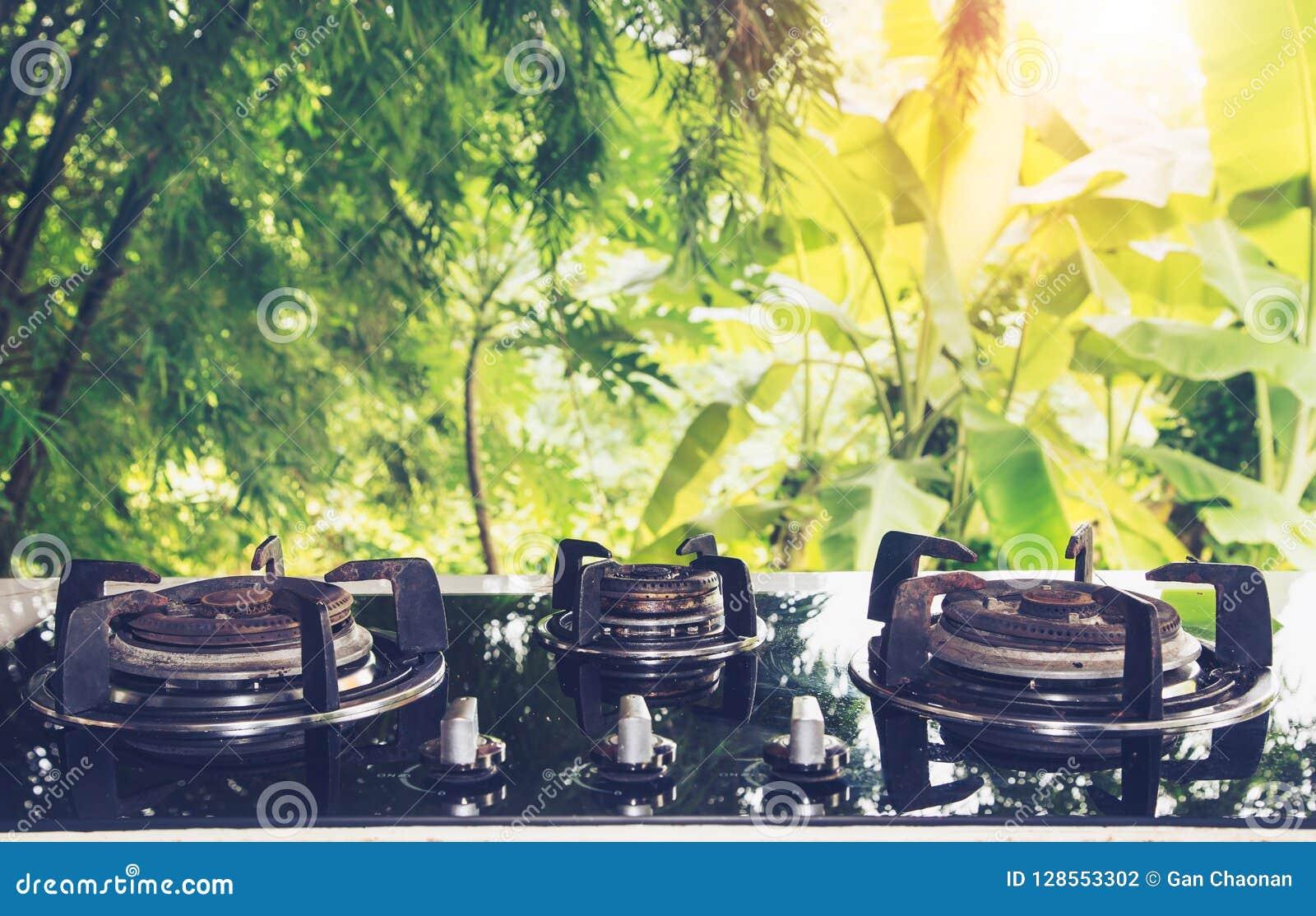 Vintage Kitchen Utensils Stock Photo Image Of Burner 128553302