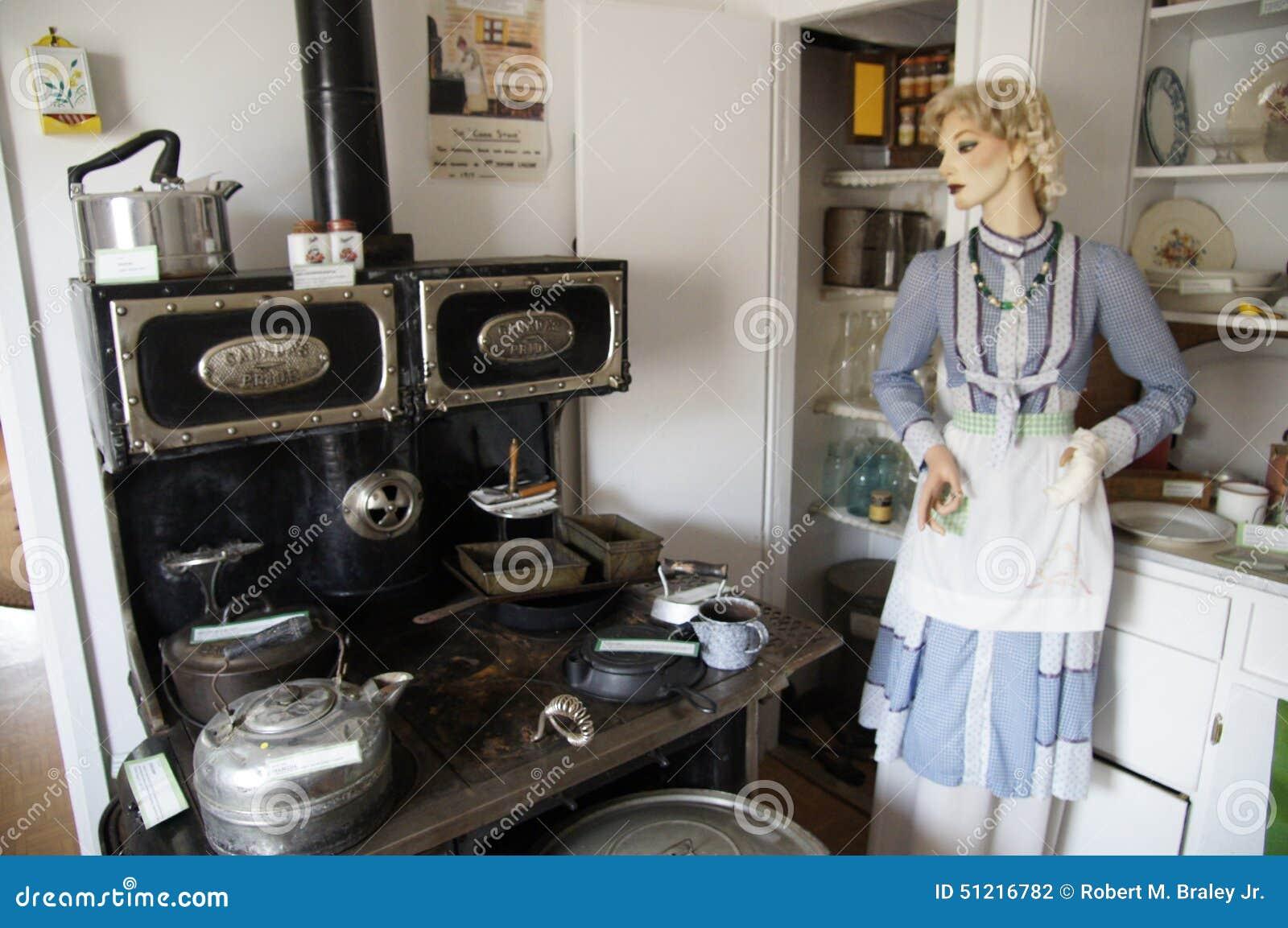 Vintage Kitchen WWII Alaska Highway