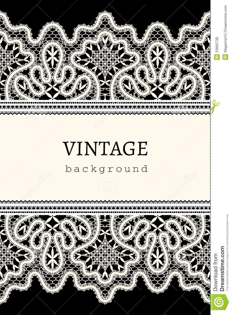 69e93f15ad Vintage lace background stock vector. Illustration of background ...