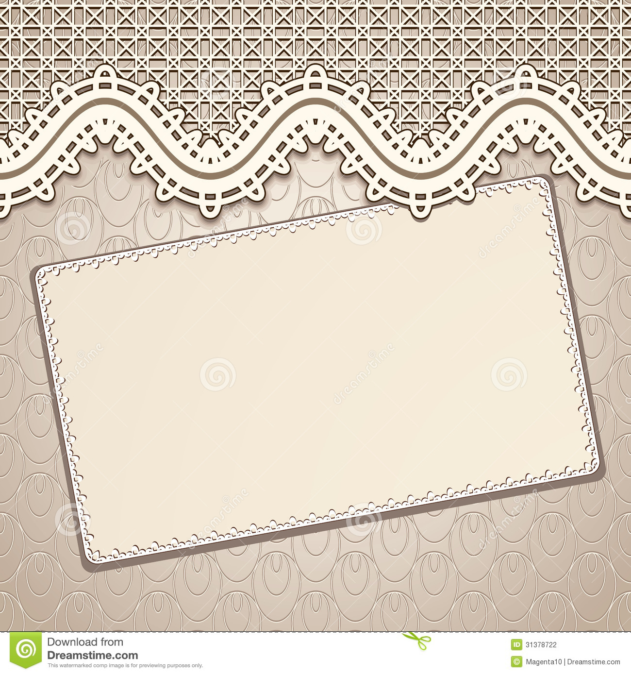 b6eefa1ee1 Vintage lace background stock vector. Illustration of cards - 31378722