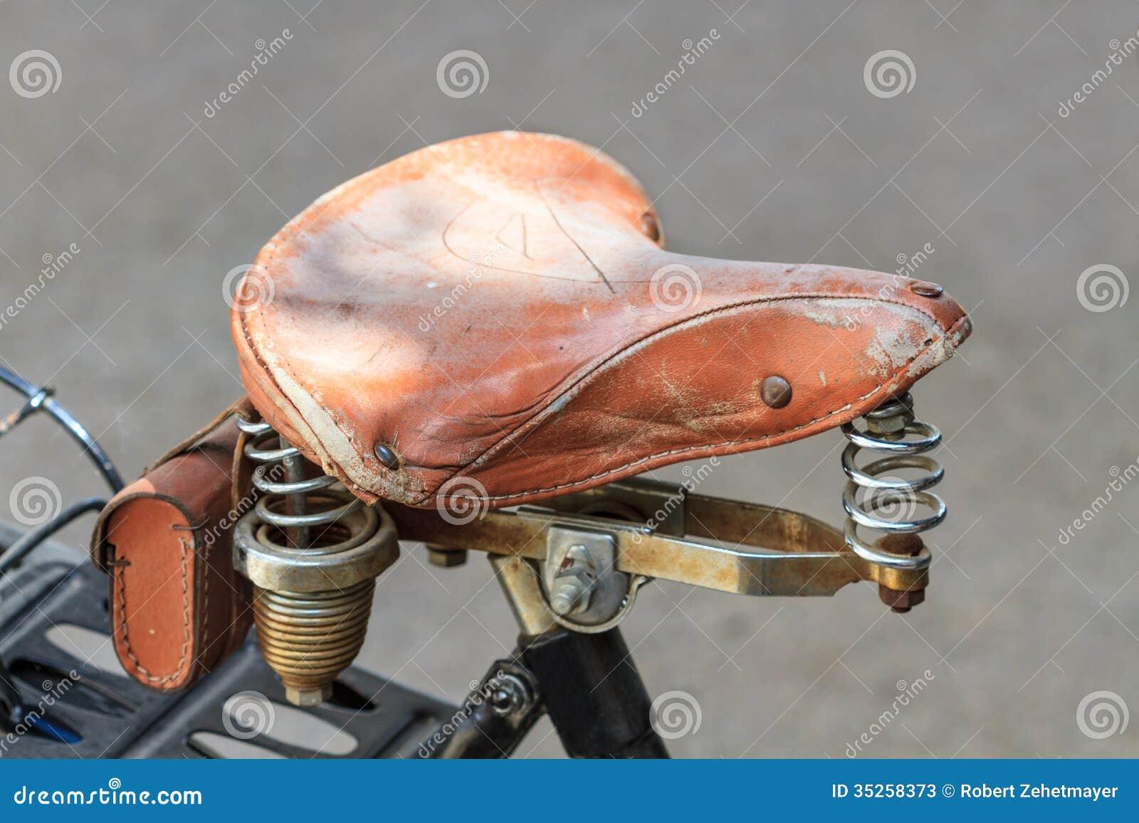 Excellent Vintage bike saddles pity, that