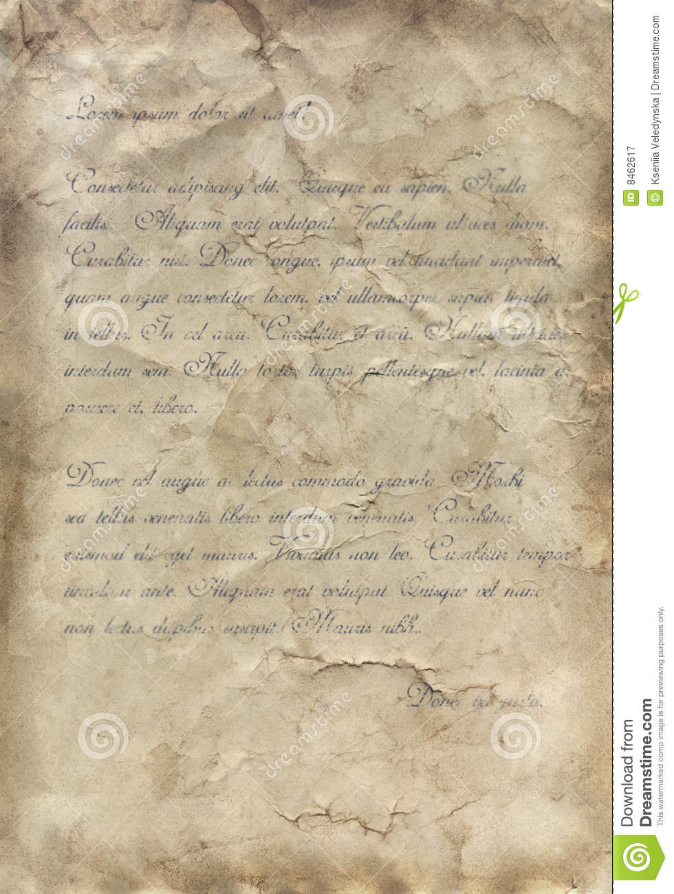 Old Fashioned Printable Stationary