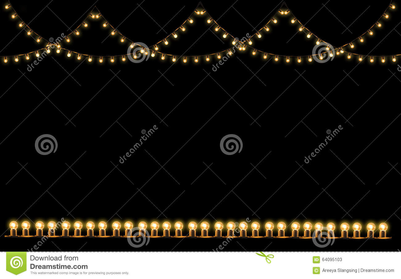 Vintage light bulb in the strip line isolated stock image image of download comp aloadofball Images