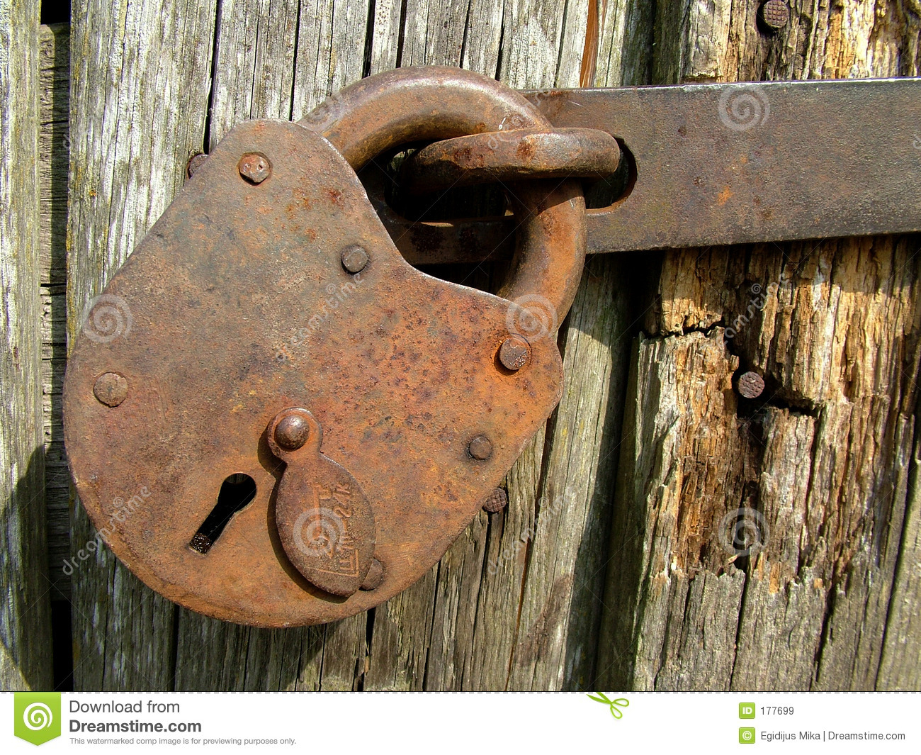 Antique Door Locks vintage lock royalty free stock images - image: 177699