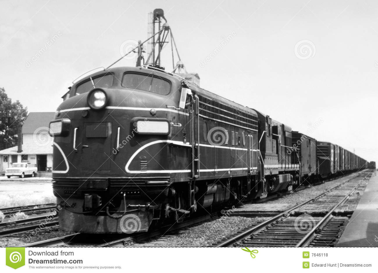 Vintage Locomotive 71