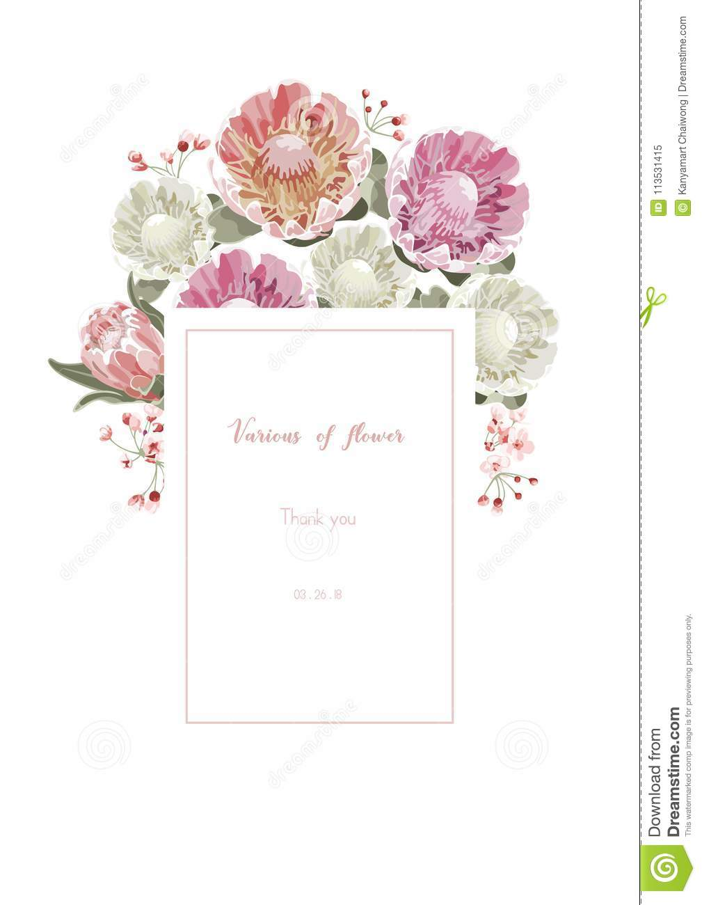 Vintage and luxurious floral vector greeting card with flowers i vintage and luxurious floral vector greeting card with flowers i izmirmasajfo