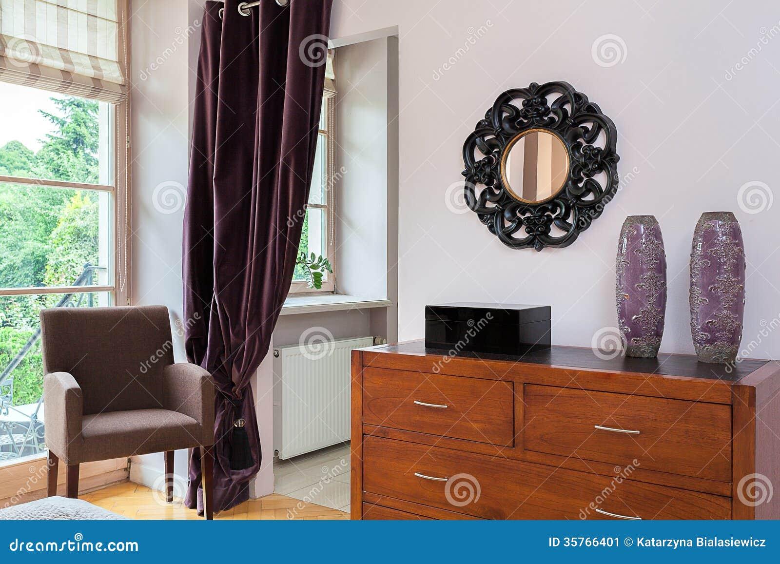 Vintage mansion bedroom furniture stock image image 35766401 - Vintage pieces of furniture old times elegance ...