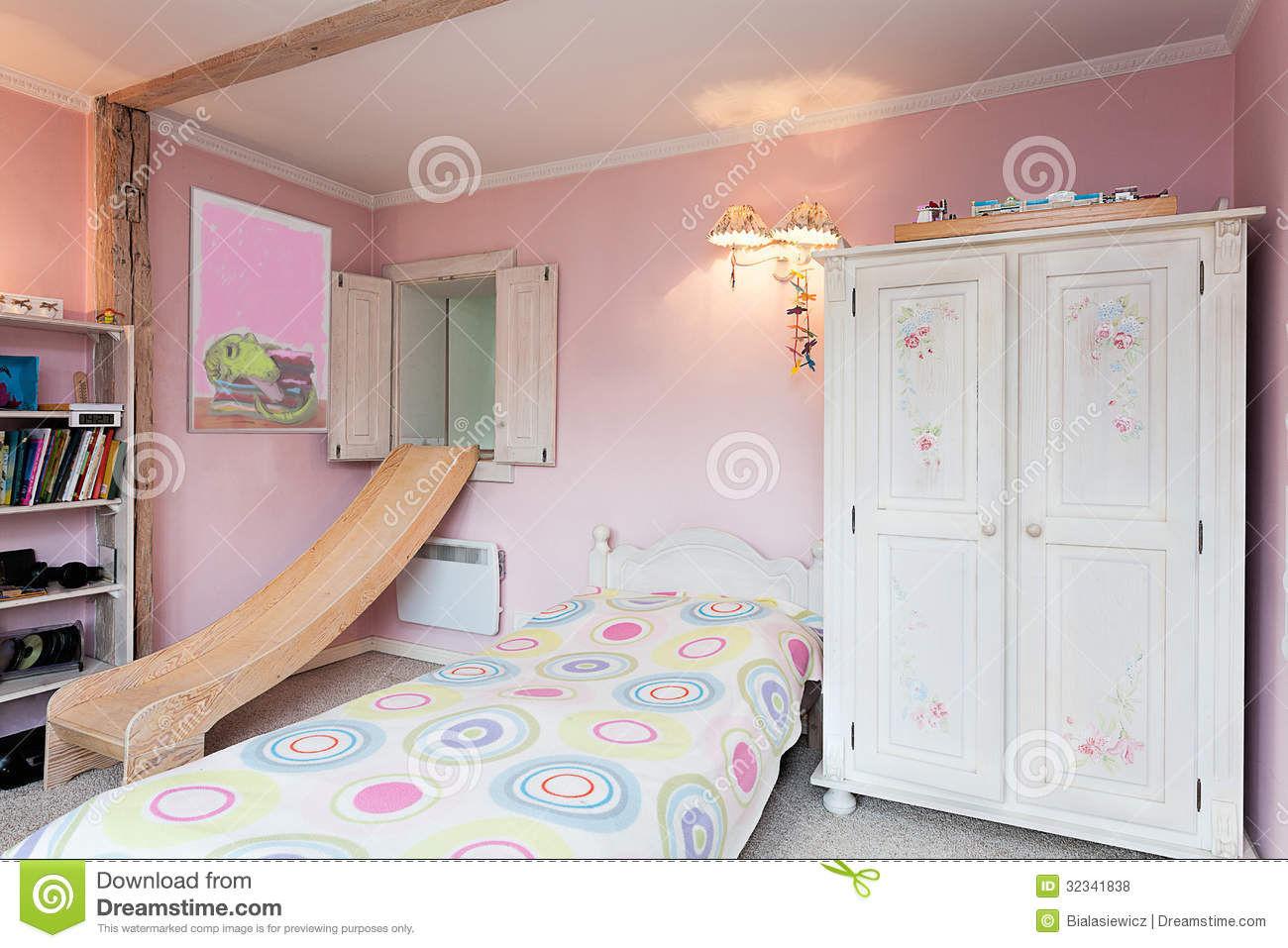 Vintage Mansion Girl s Room Royalty Free Stock s Image