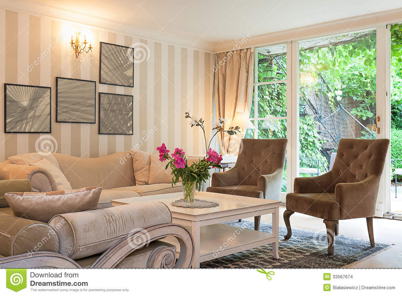 vintage mansion luxurious suite stock images image
