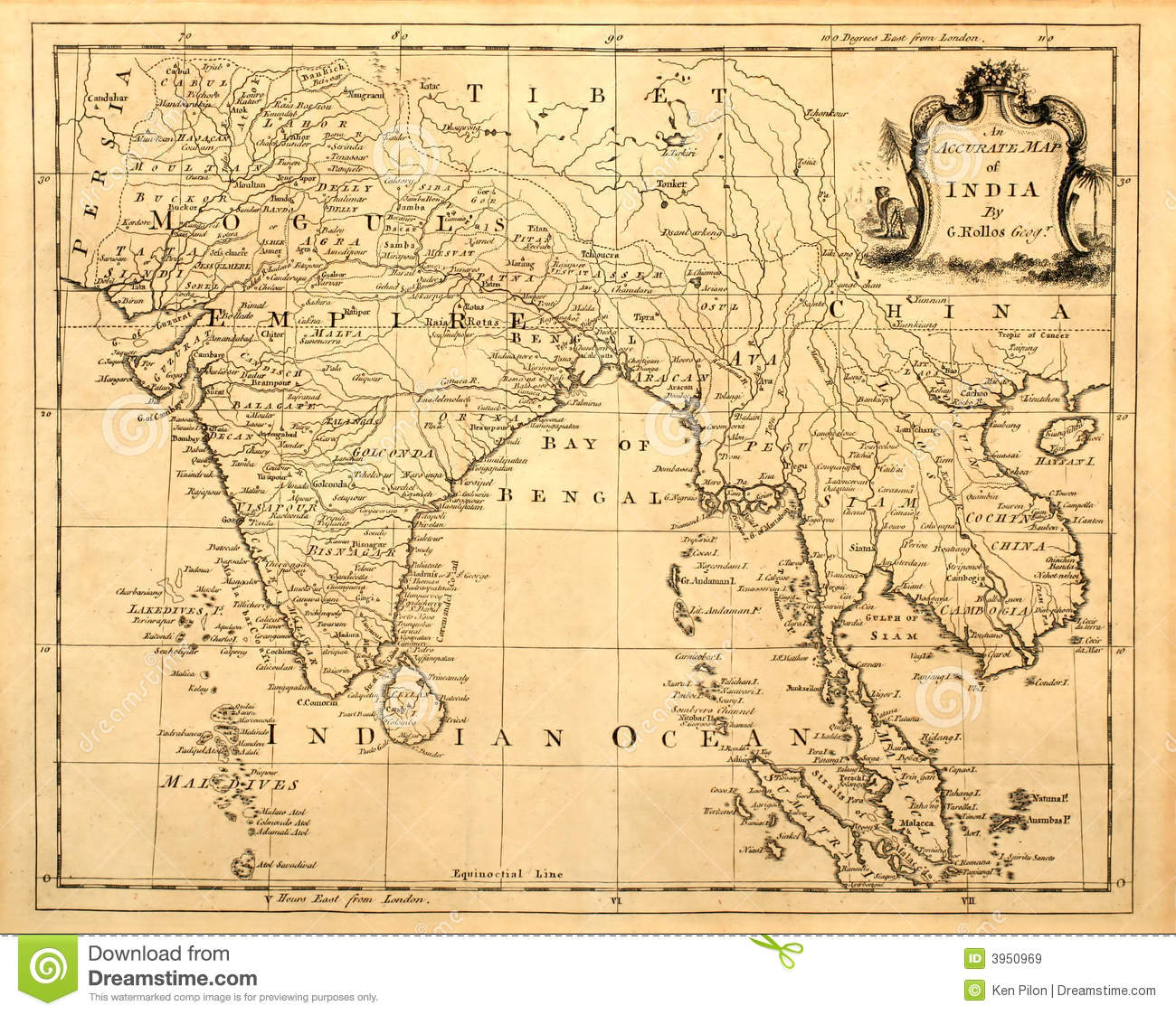 Maps of southeast asia countries old antique stock photo image of vintage map of india and se asia royalty free stock images publicscrutiny Gallery