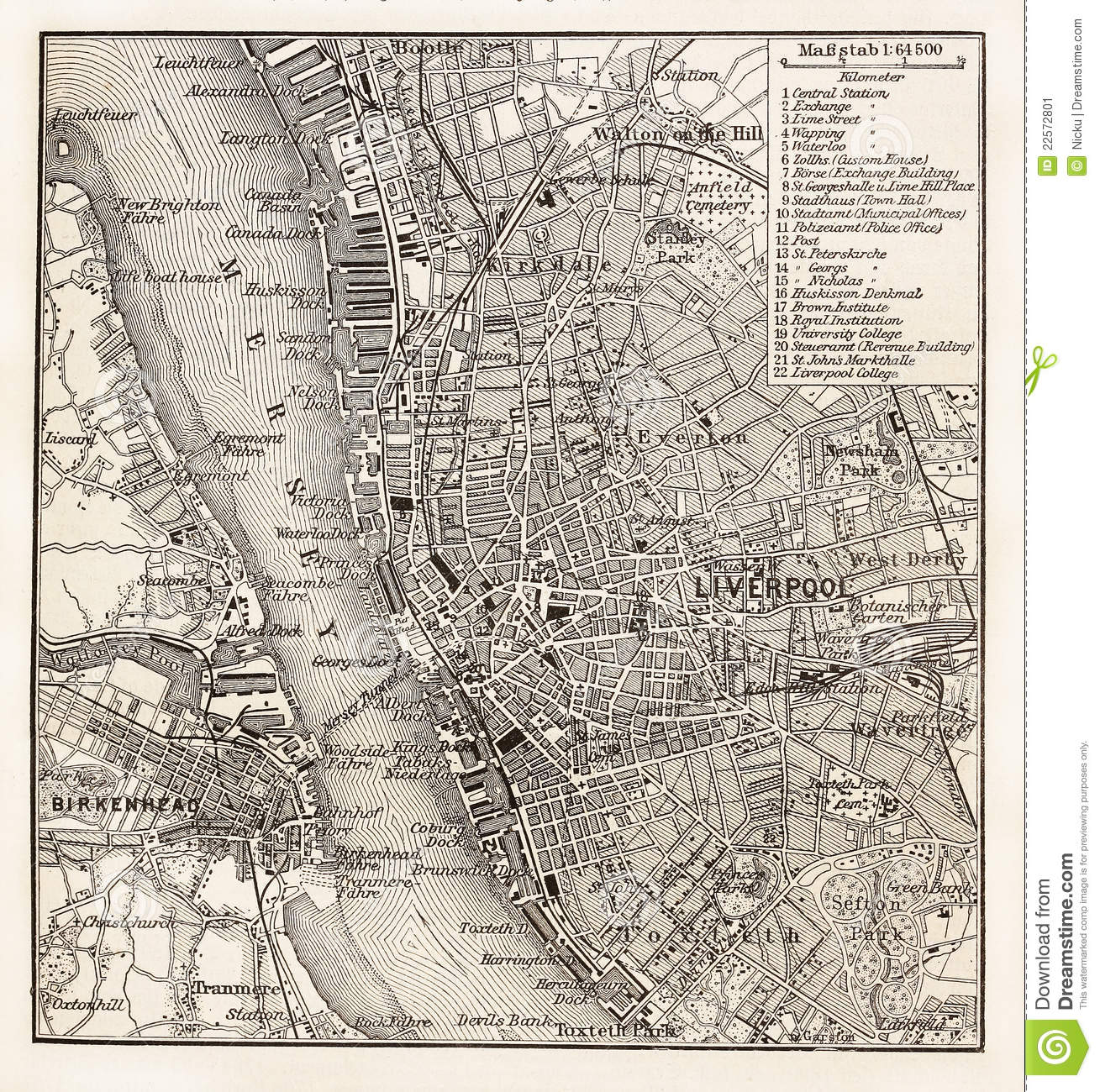 Old paris street map royalty free stock photo image 15885665 - Vintage Map Of Liverpool Stock Image