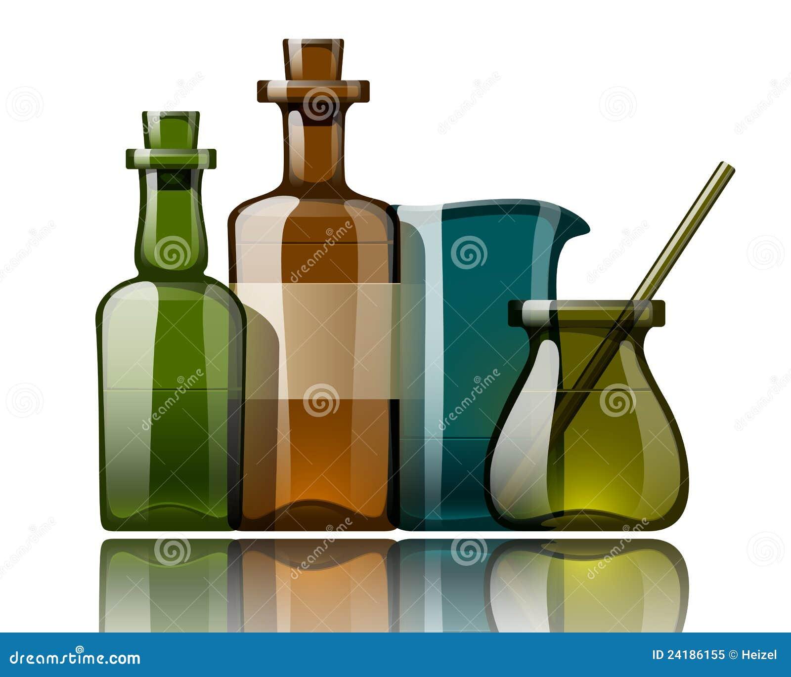 Vintage Medicine Bottles, Vector Royalty Free Stock Photo ...