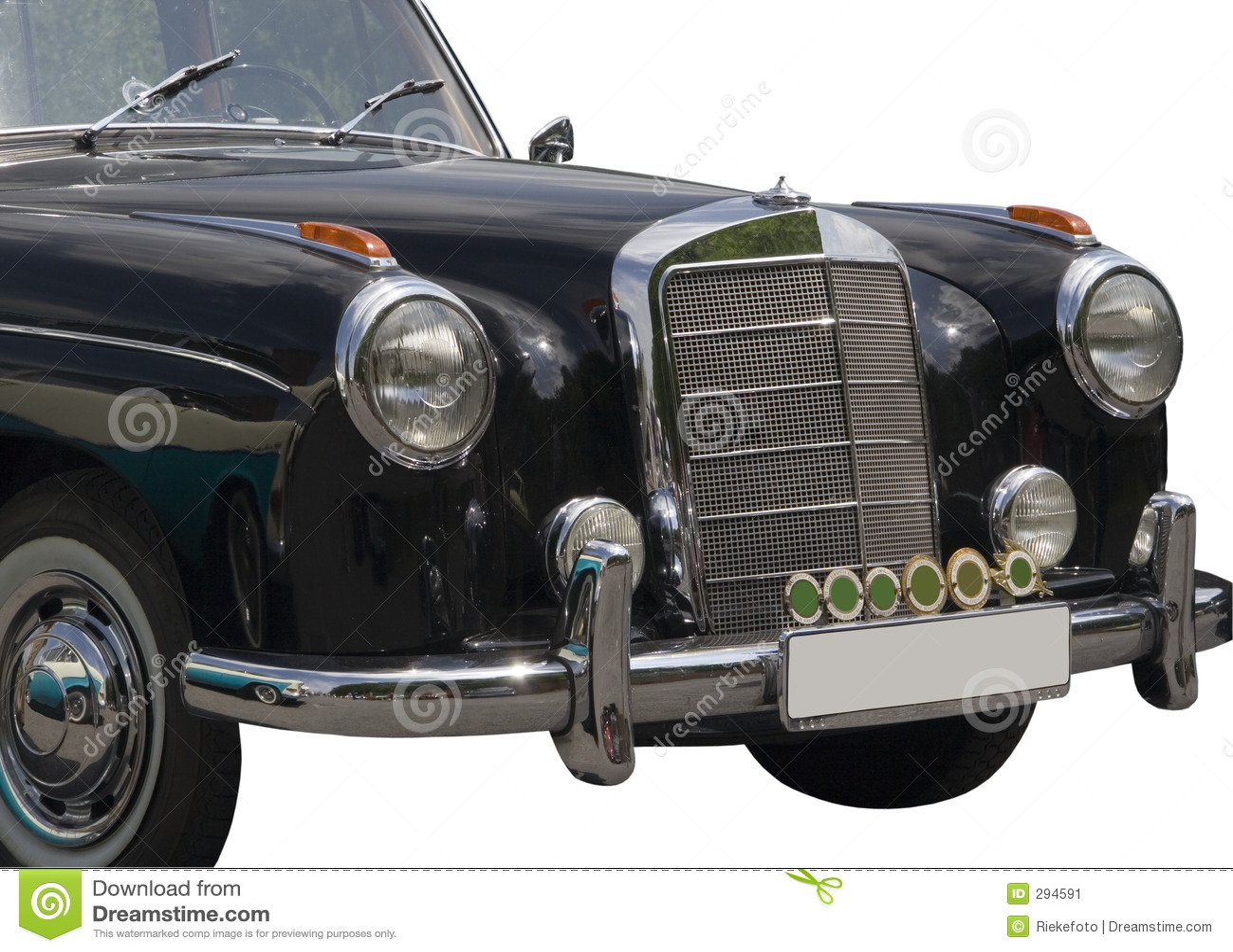 Vintage mercedes benz stock image image 294591 for Mercedes benz retro