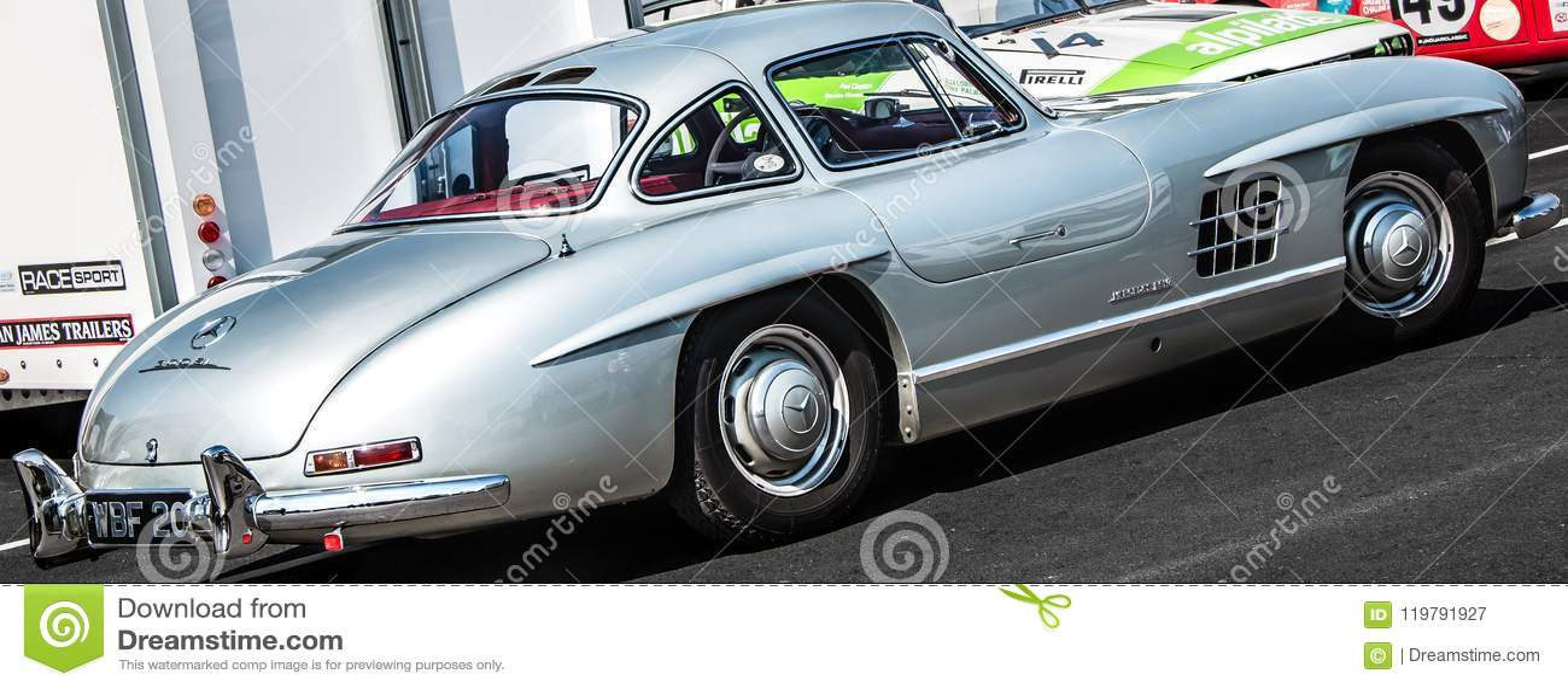 Vintage Mercedes-Benz 300 SL Gullwing