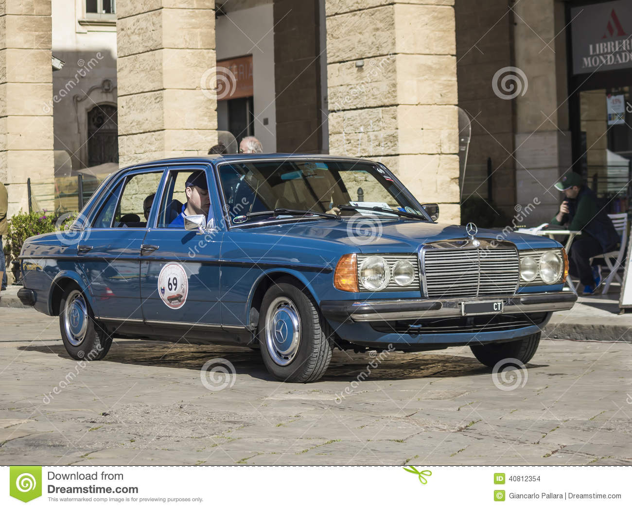 Vintage Mercedes Class E Editorial Stock Image Image Of