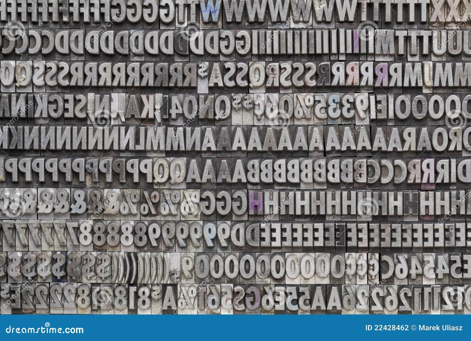 Metal Letters And Numbers Glamorous Vintage Metal Letters And Numbers Stock Photo  Image Of Metal 2018