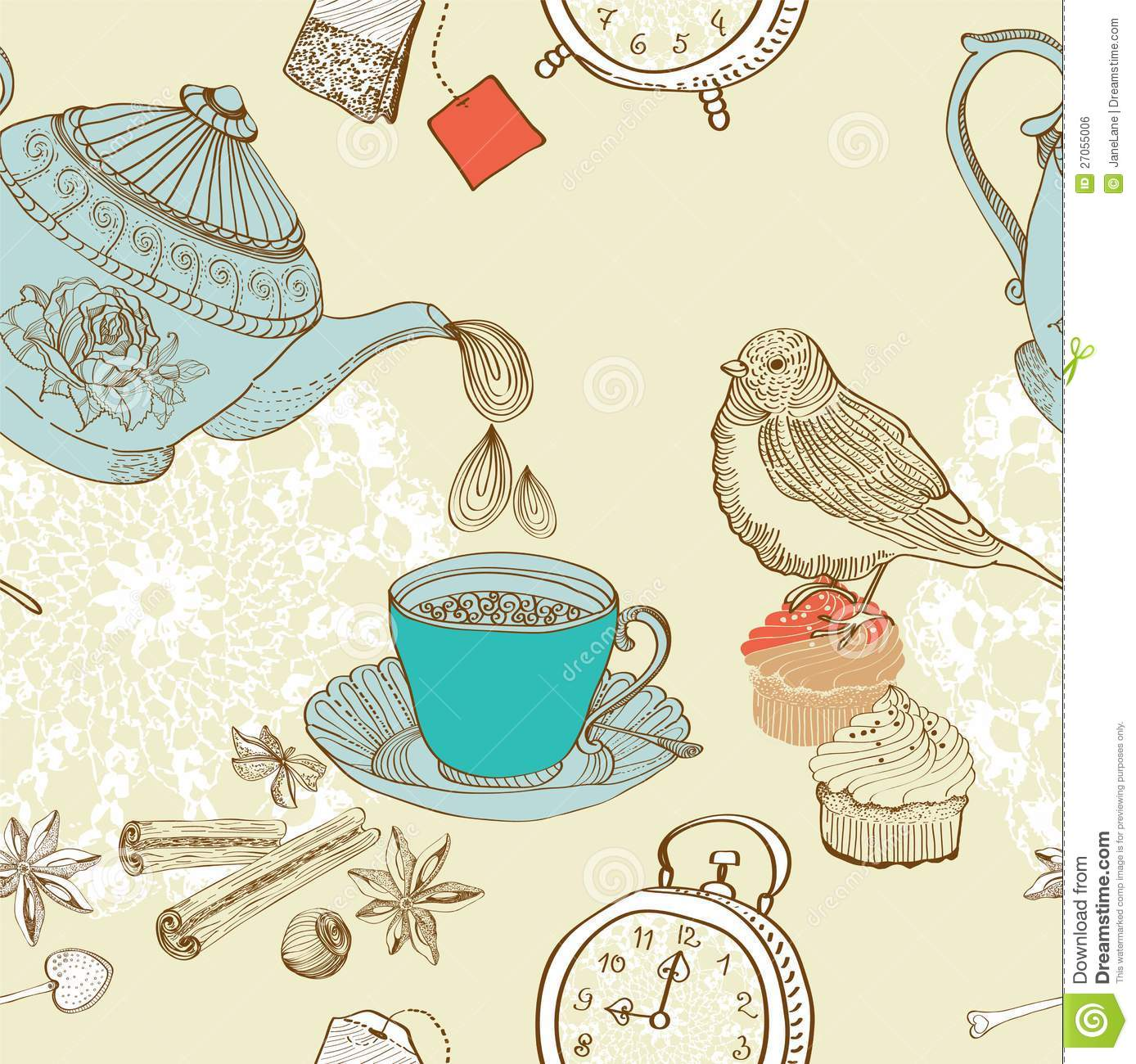 how to plan a vintage tea party