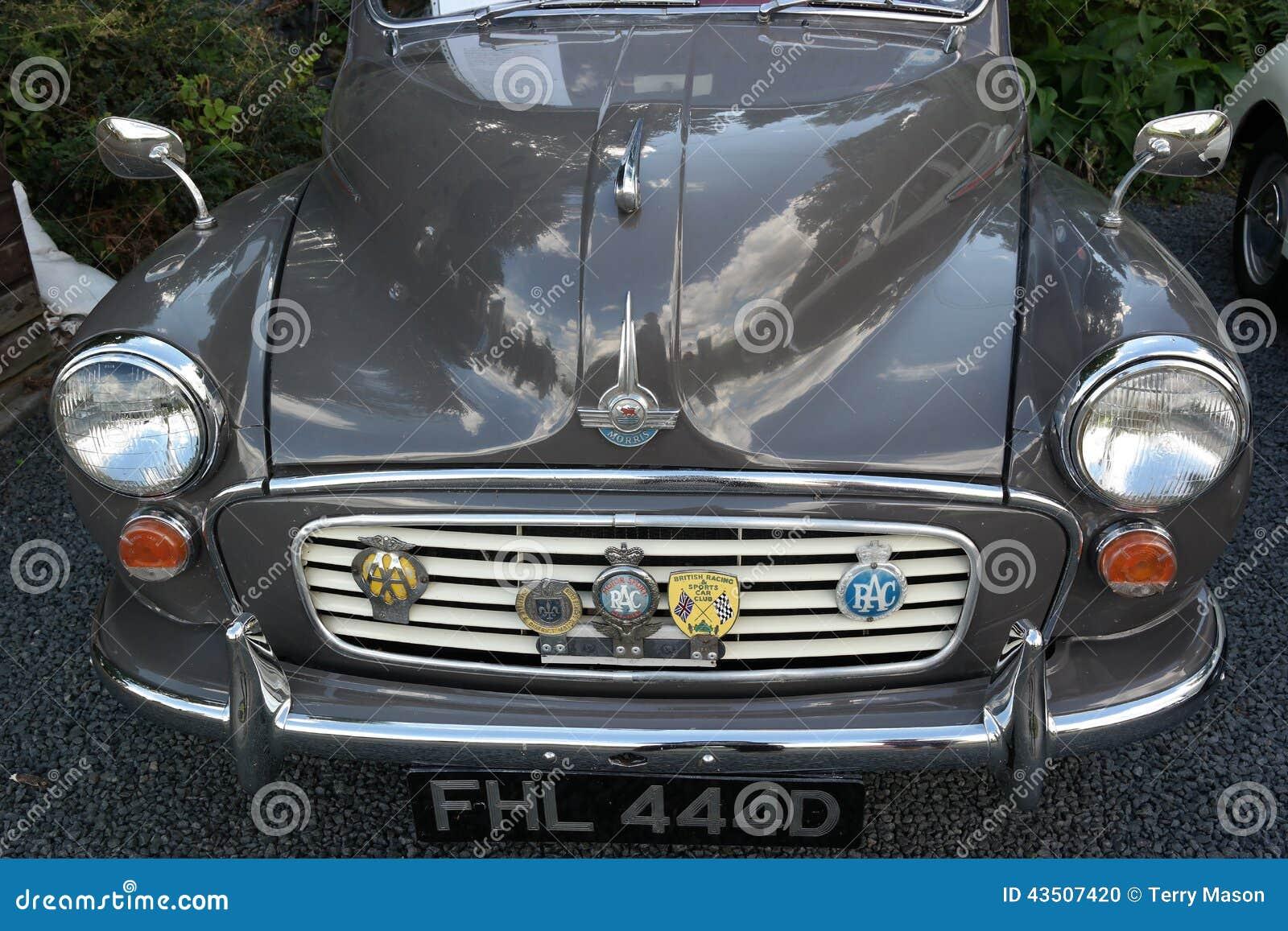 Vintage Classic Morris Bonnet Badge Vehicle Parts & Accessories Badges & Mascots