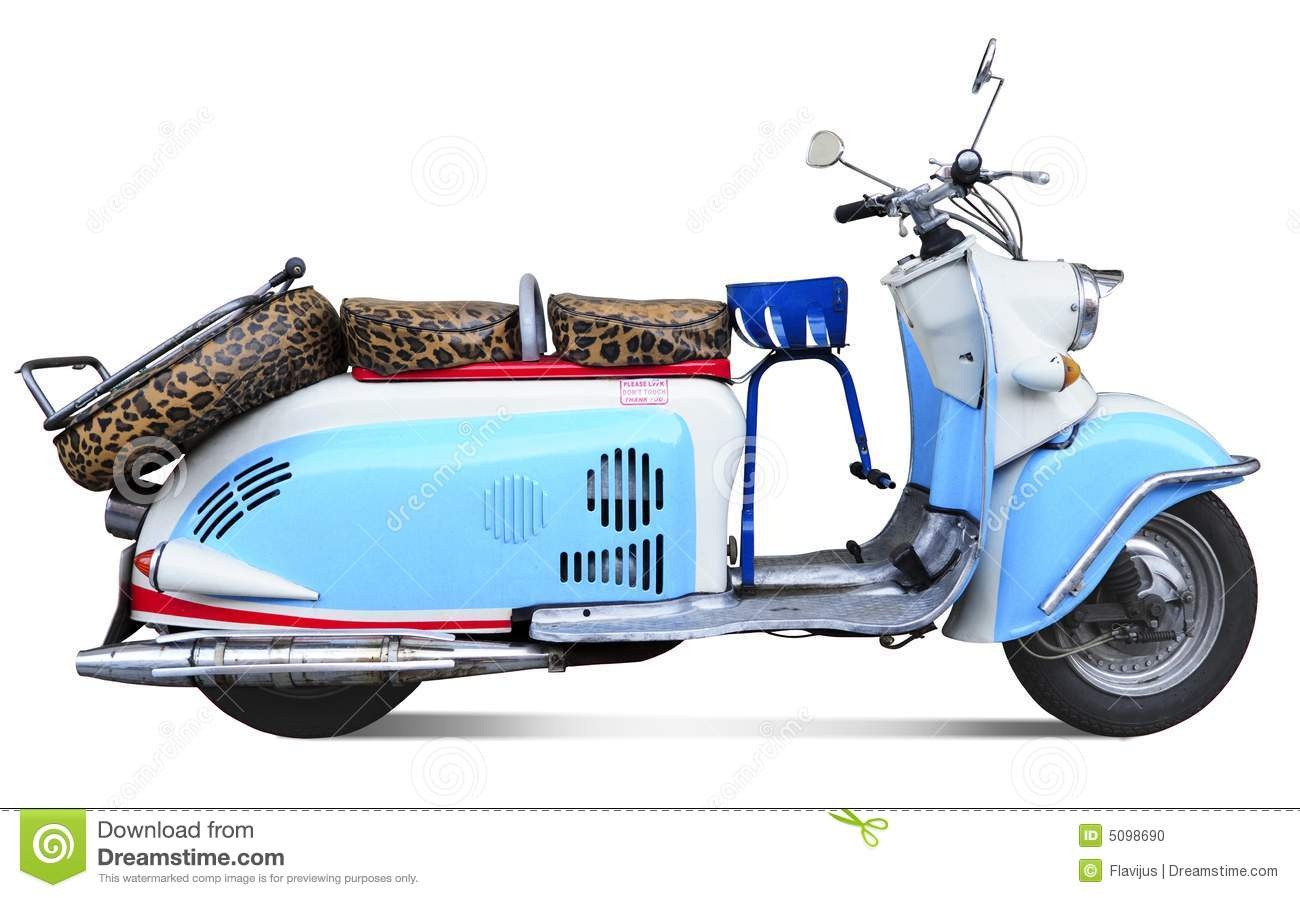 Vintage motor scooter stock photo image of italian motor for What is a motor scooter