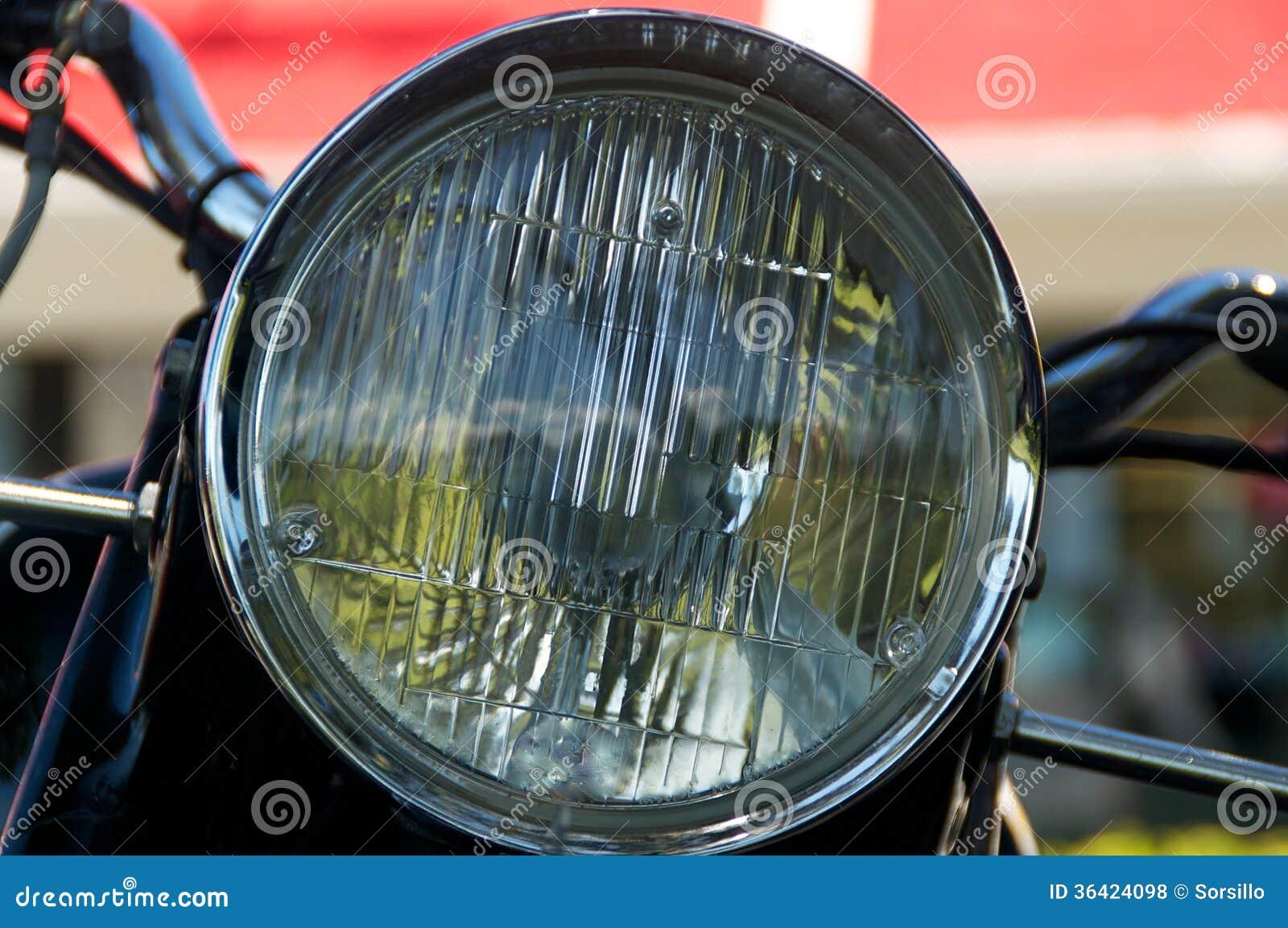 Vintage Motorcycle Headlights 33