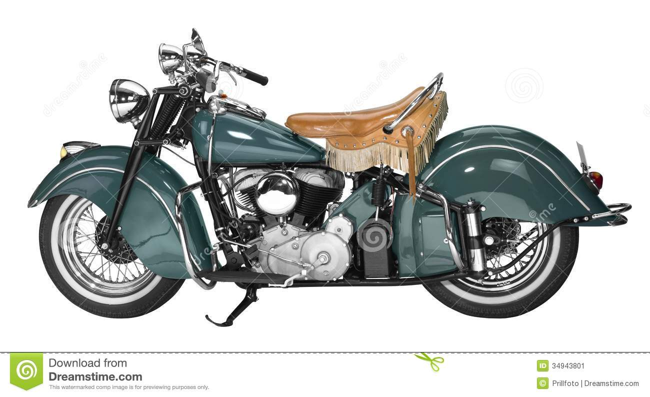 Vintage motorcycle stock image. Image of revival, retro ...