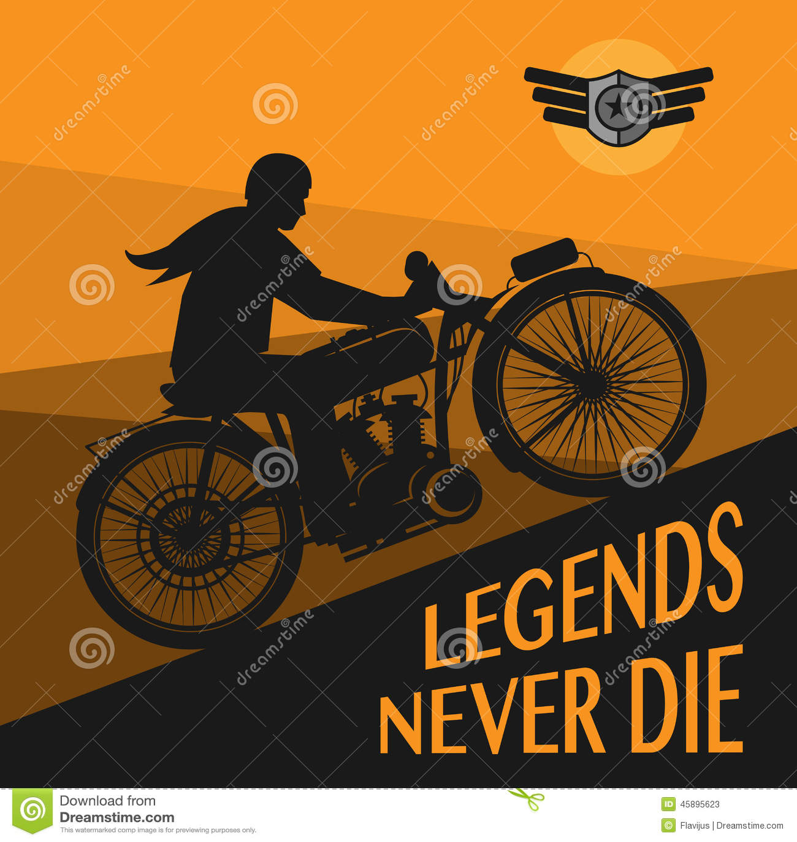 Vintage Motorcycle Poster 15