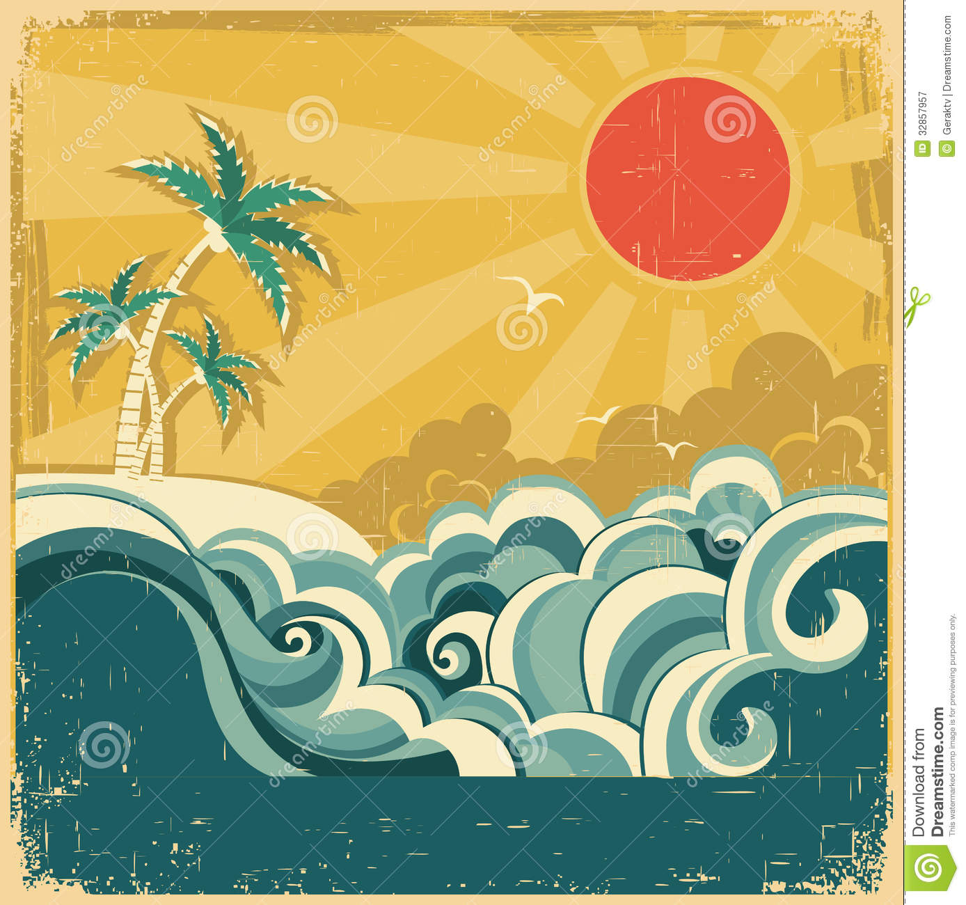 Poster design background - Poster Background Design Vector Free Download Background Nature Poster Seascape Tropical Vector