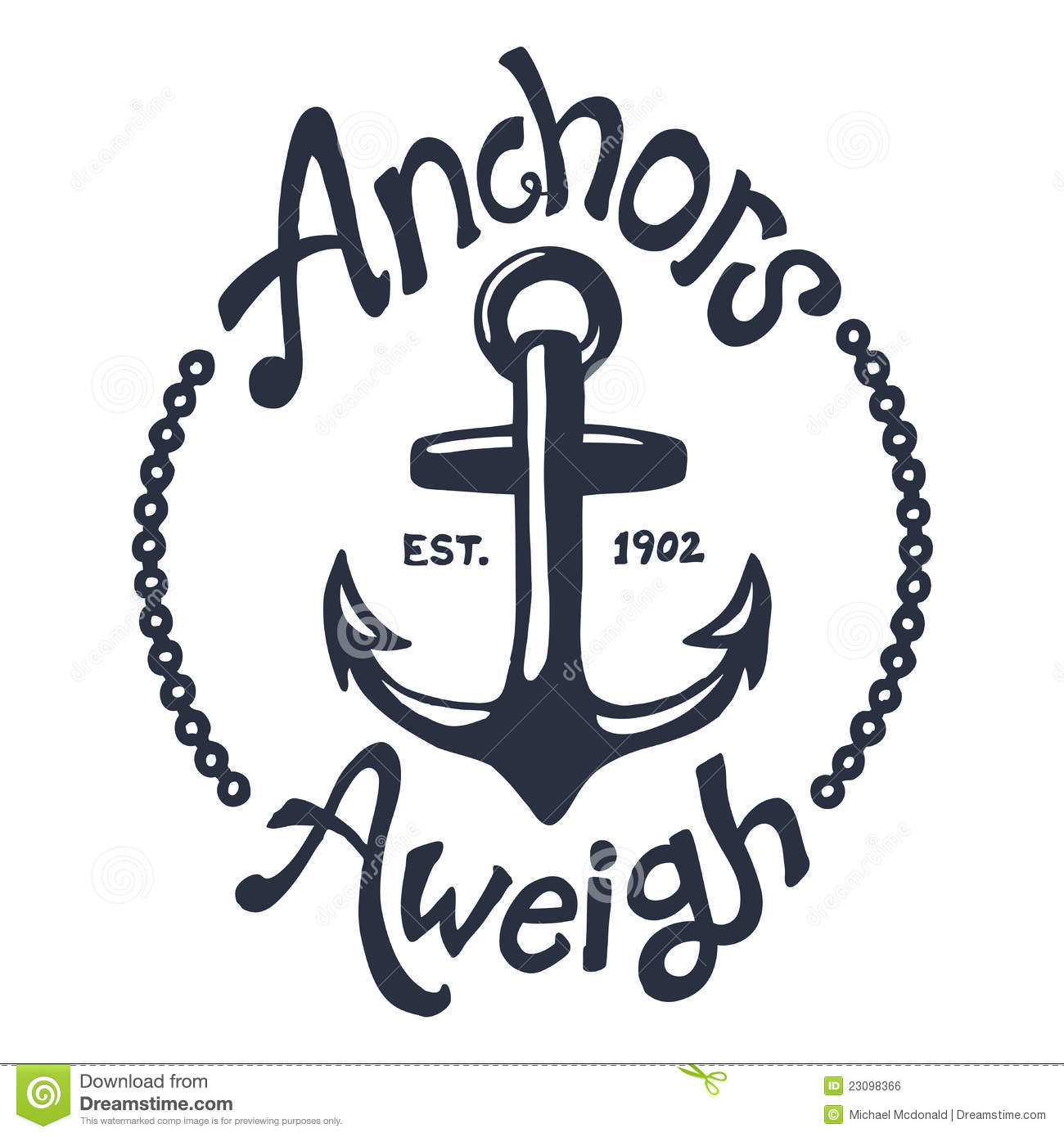 Vintage Nautical Illustration Royalty Free Stock Image - Image ...