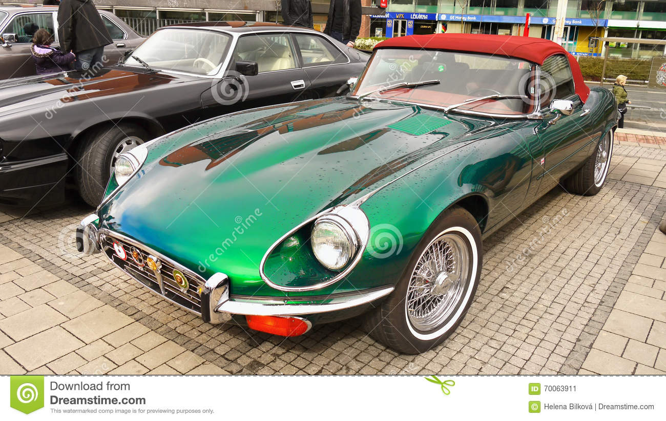 Exclusive vintage classic car  Jaguar Coupe, ETYPE. Top Sports Cars