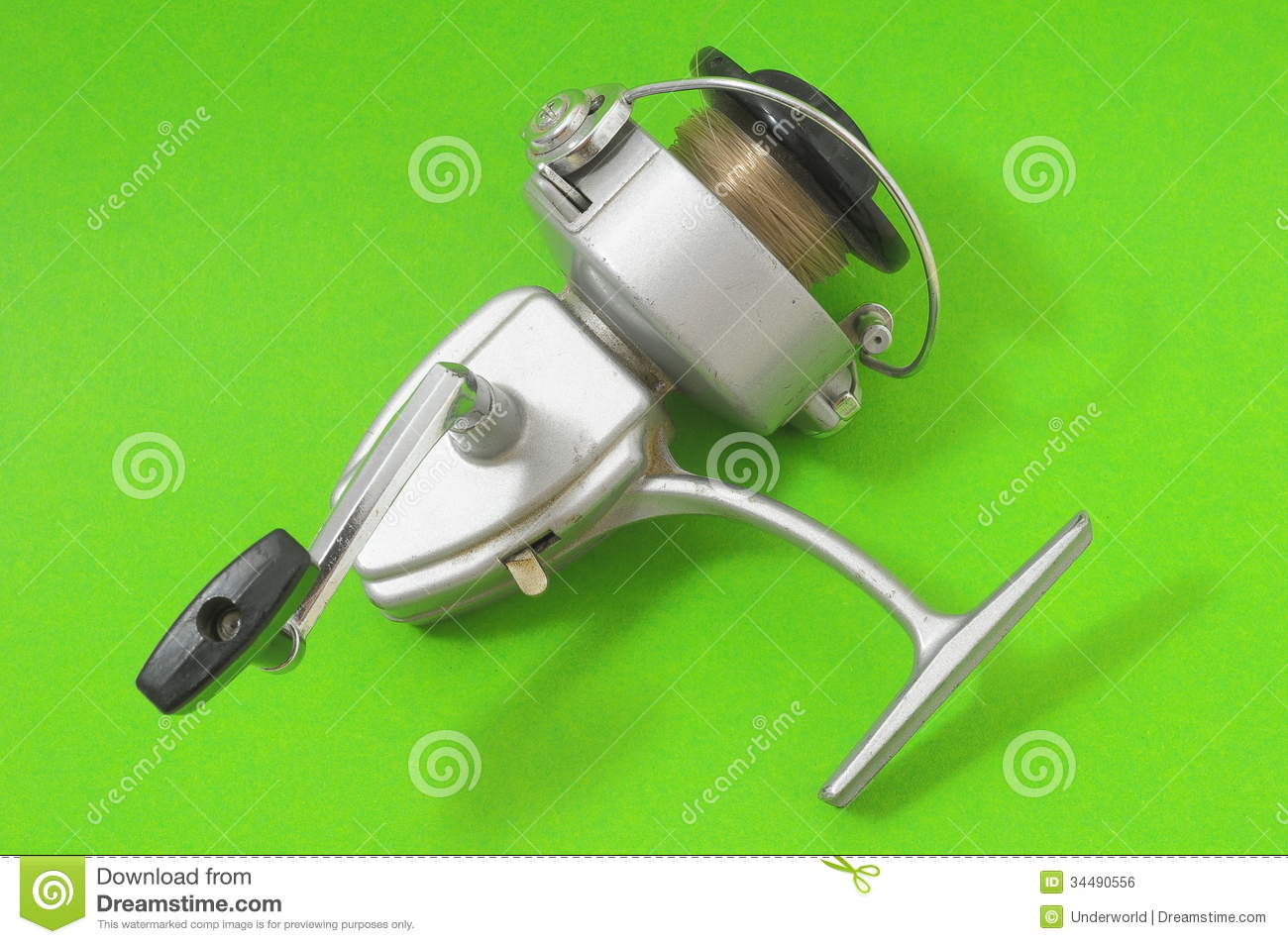 Vintage old fishing reel royalty free stock image image for Old fishing reels