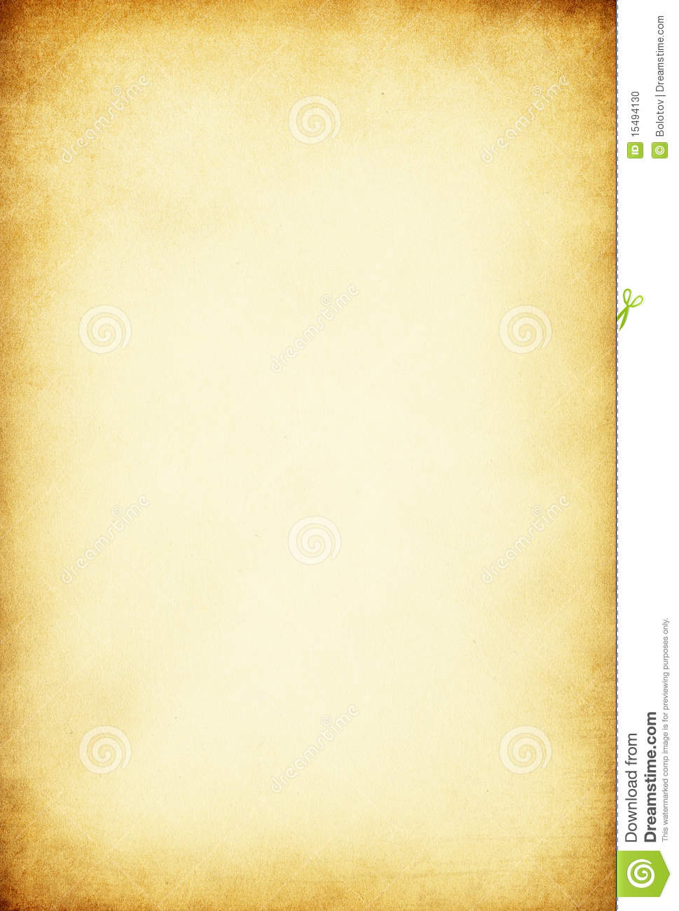 Vintage Old Paper Background Stock Photo - Image: 15494130