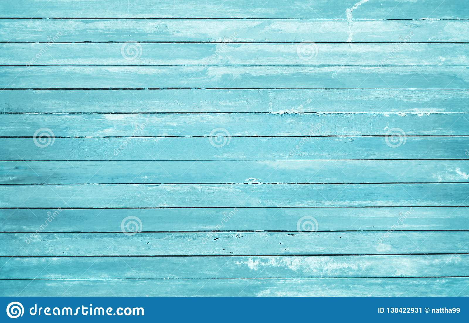 Vintage painted wooden wall background, texture of blue pastel color with natural patterns for design art work