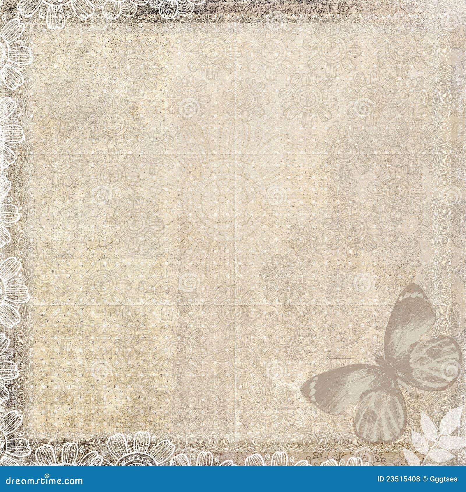 Vintage paper butterflies 13