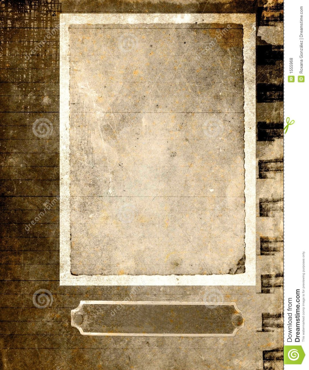 Antique Paper: Sepia Royalty Free Stock Photos