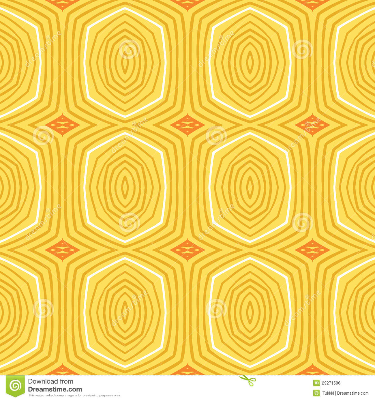 Vintage Pattern Fifties Wallpaper Stock Vector