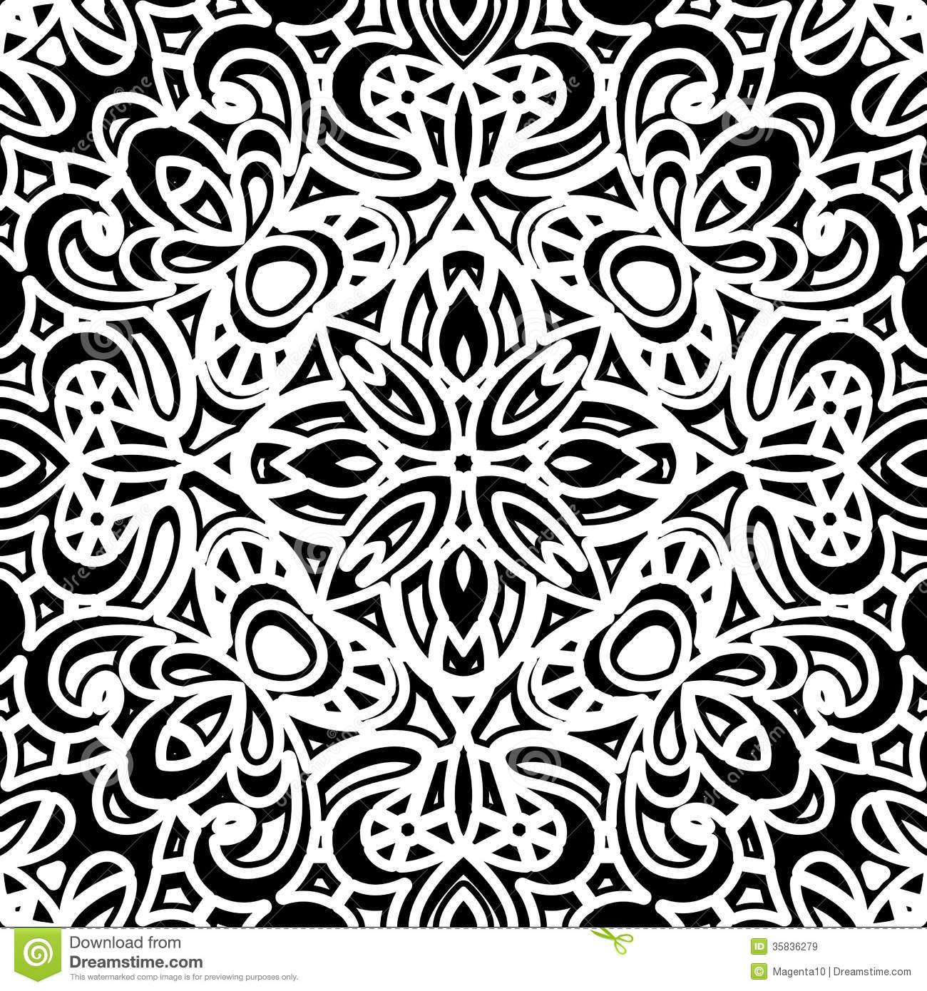 Black And White Photography Pattern : Vintage pattern royalty free stock images image
