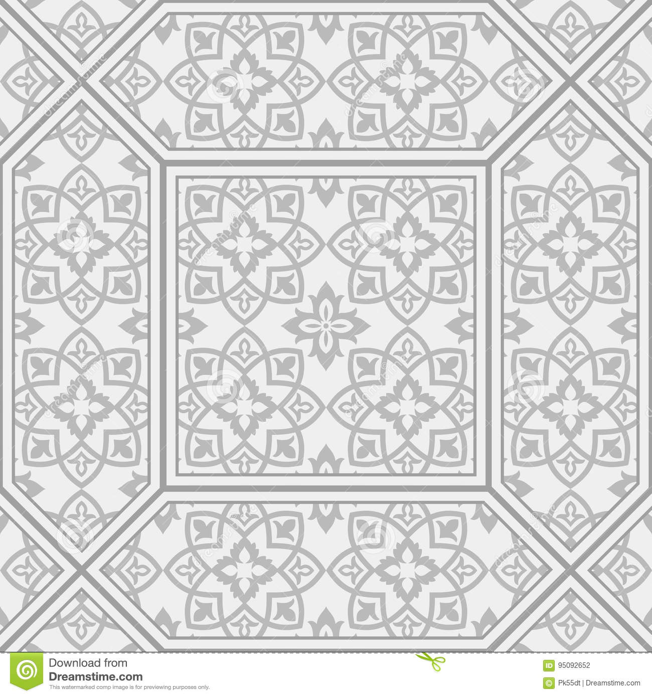 Vintage Patterned Tiles Patterned Floor And Wall Tiles