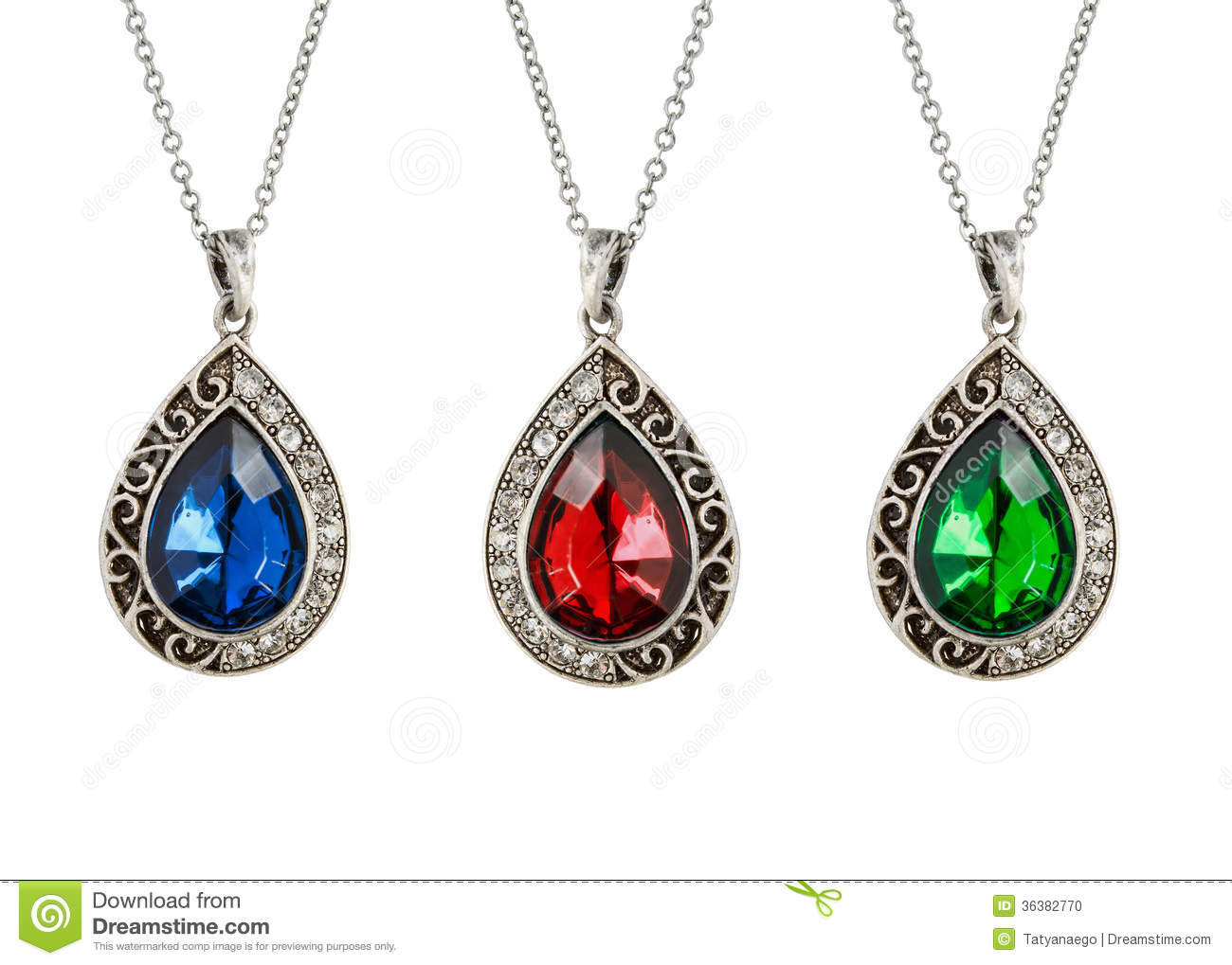 Vintage pendants stock photo image of decor green emerald 36382770 royalty free stock photo mozeypictures Gallery