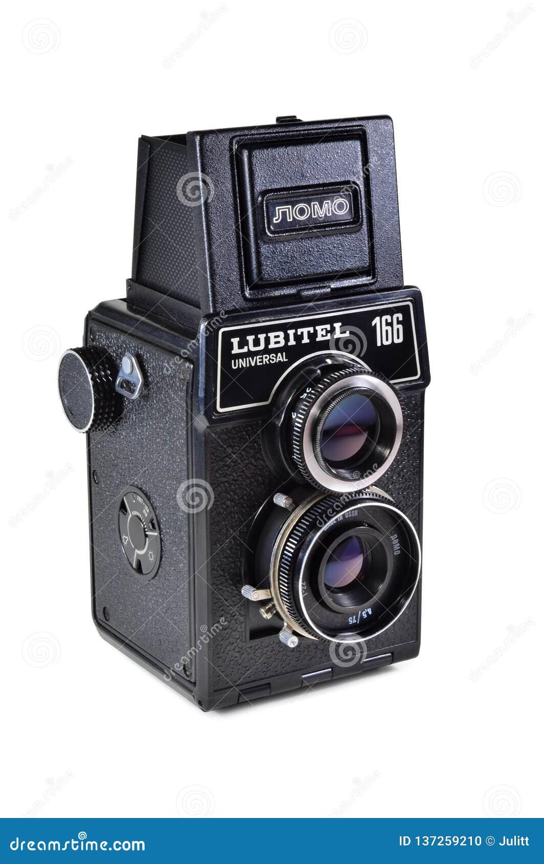 Vintage photo camera Lubitel-166 universal