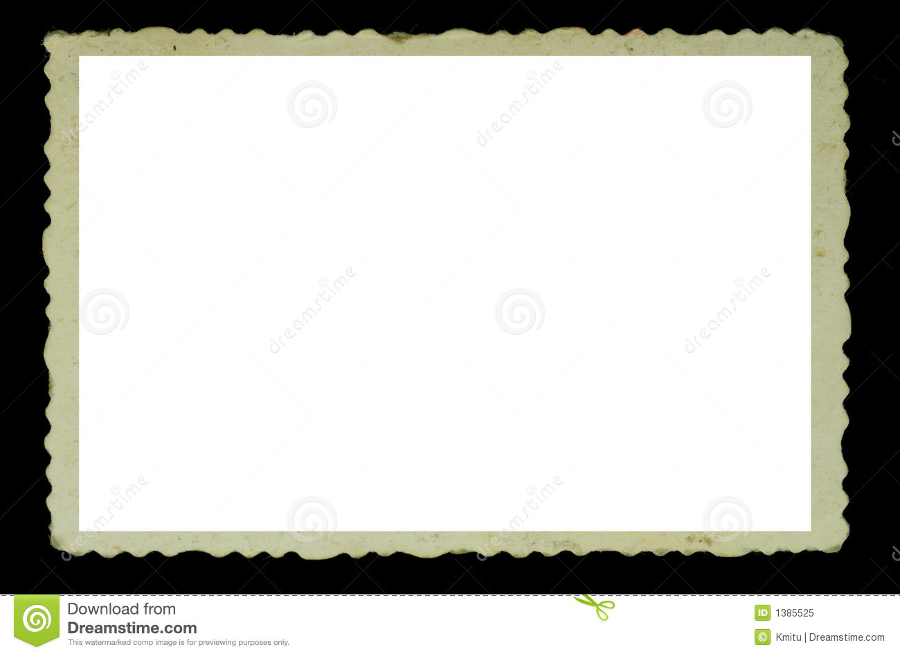 Vintage Photo Frame Stock Image Of Blank Brown