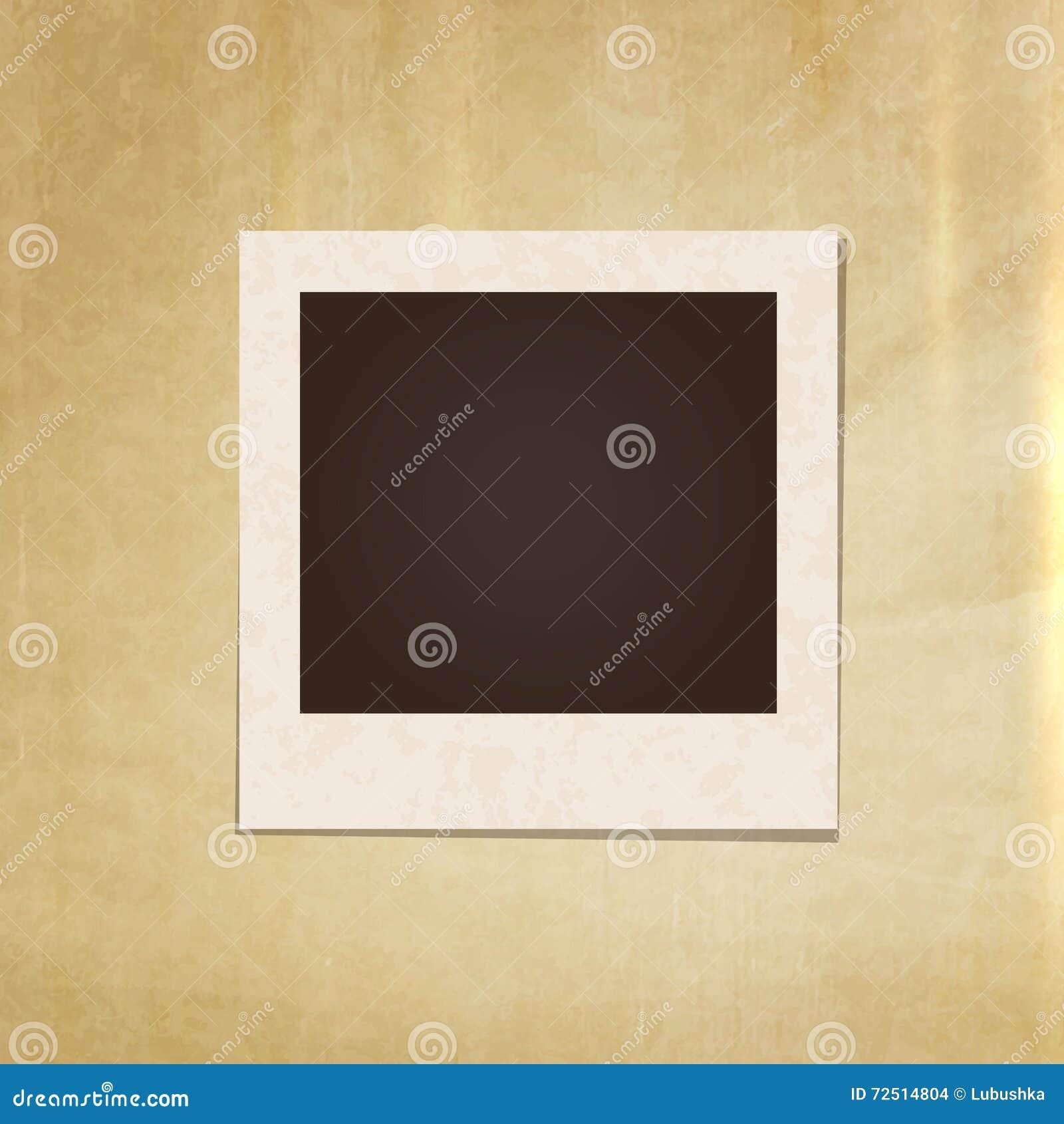 vintage photo frame stock vector image 72514804. Black Bedroom Furniture Sets. Home Design Ideas
