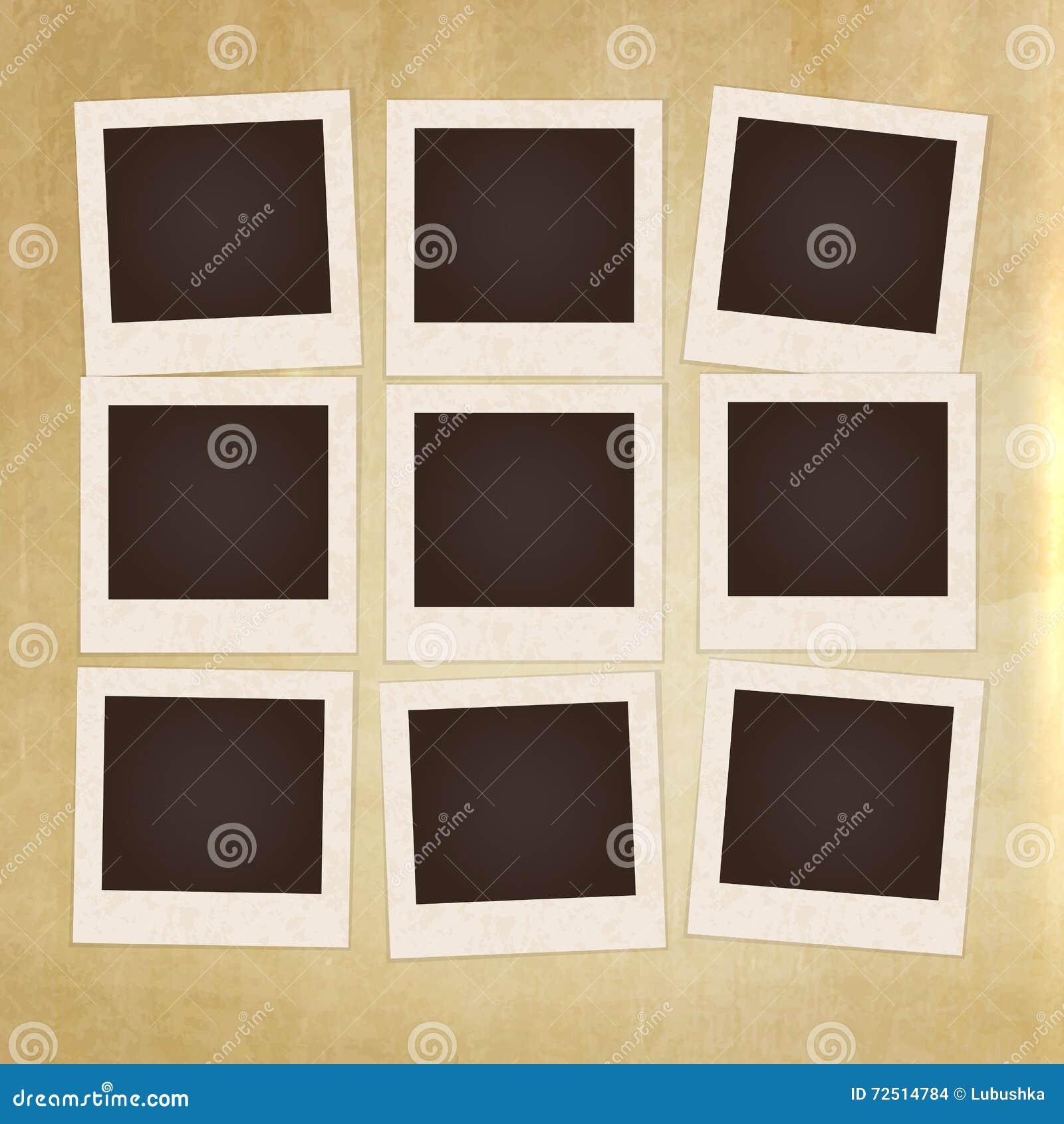 Vintage photo frame stock vector. Illustration of love - 72514784