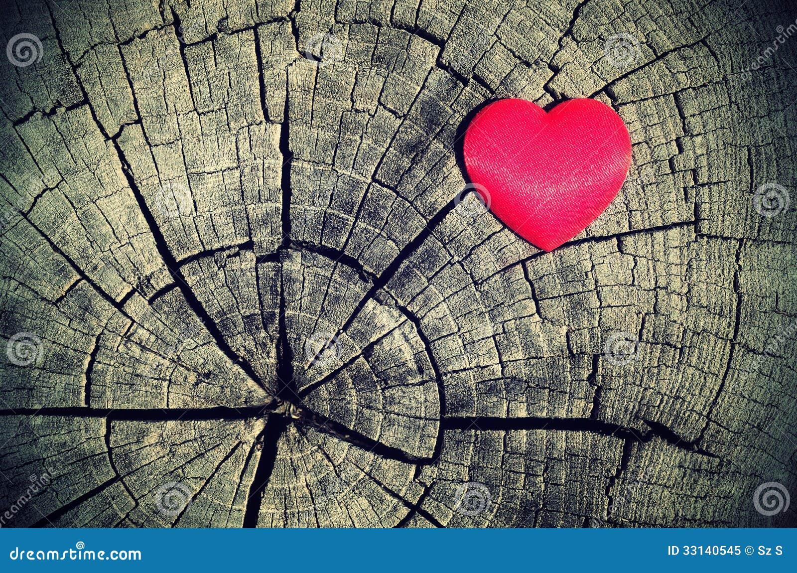 Vintage Heart Background Vintage photo o...
